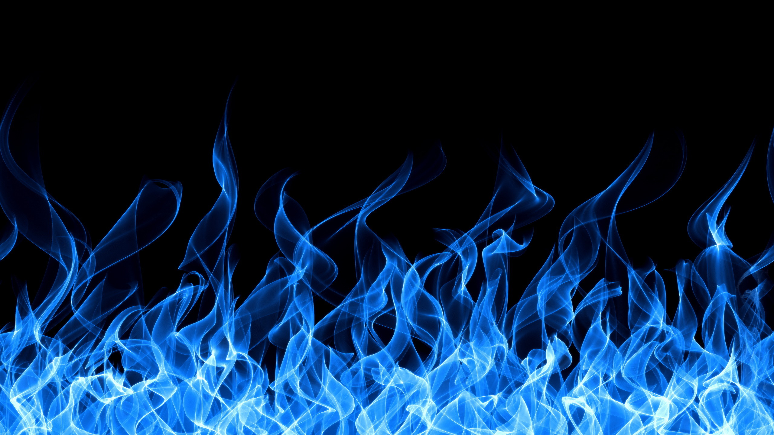 Blue Fire Background Wallpapertag