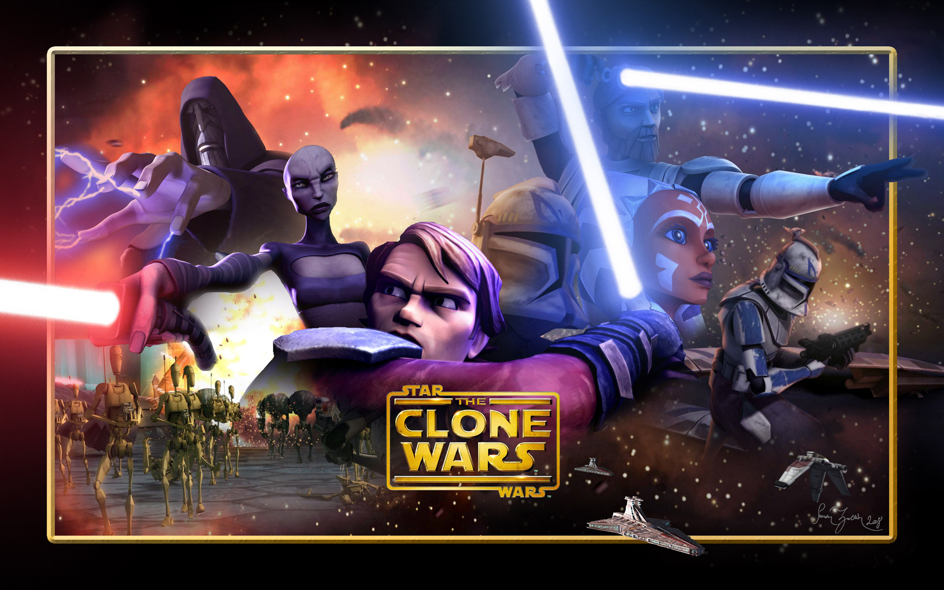 Star Wars Clone Wars Wallpaper Wallpapertag