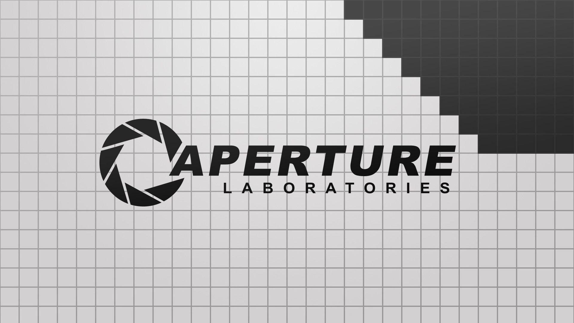 aperture laboratories wallpaper ·①