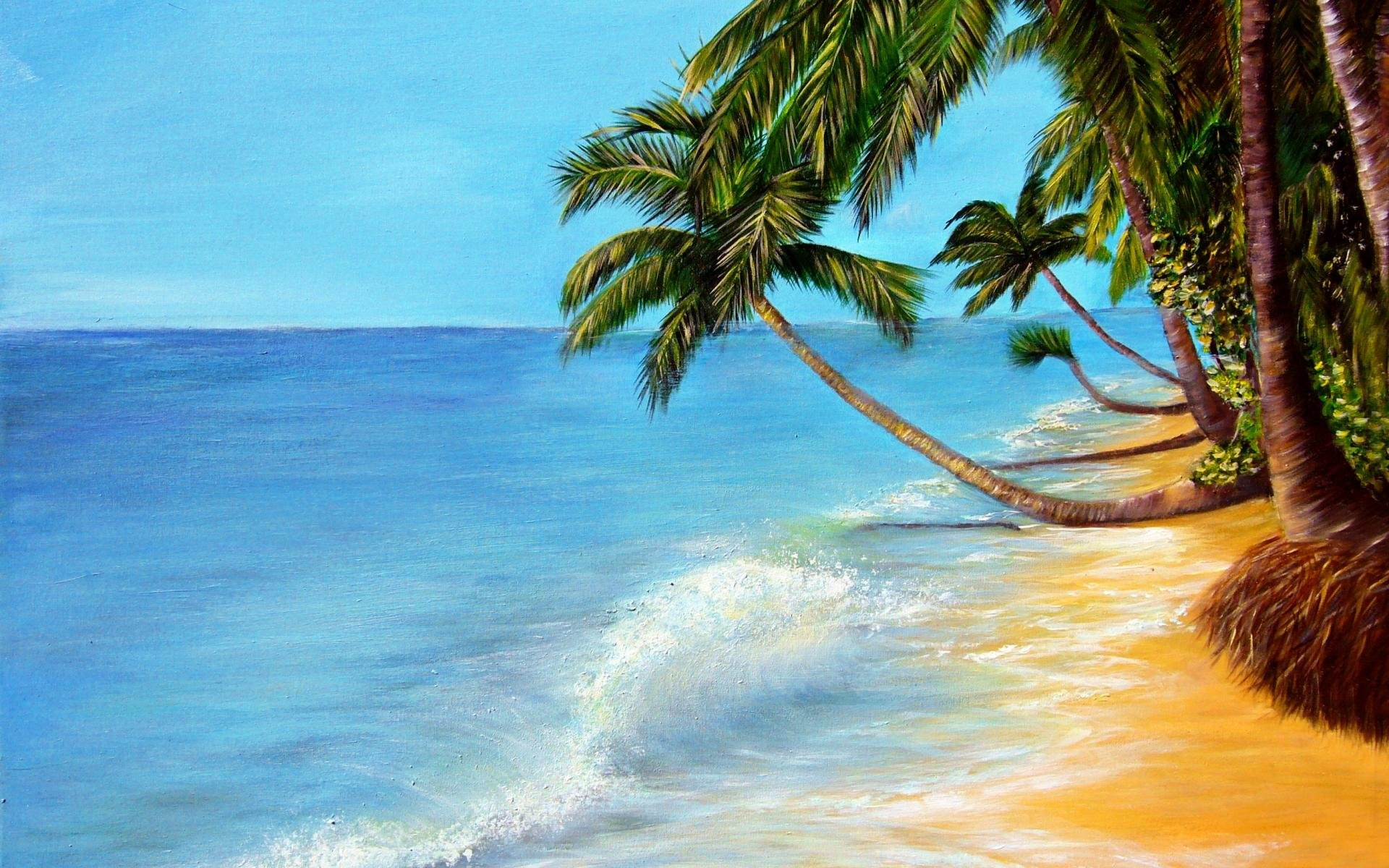 Tropical Beach Paradise Backgrounds: Beach Paradise Wallpaper ·①