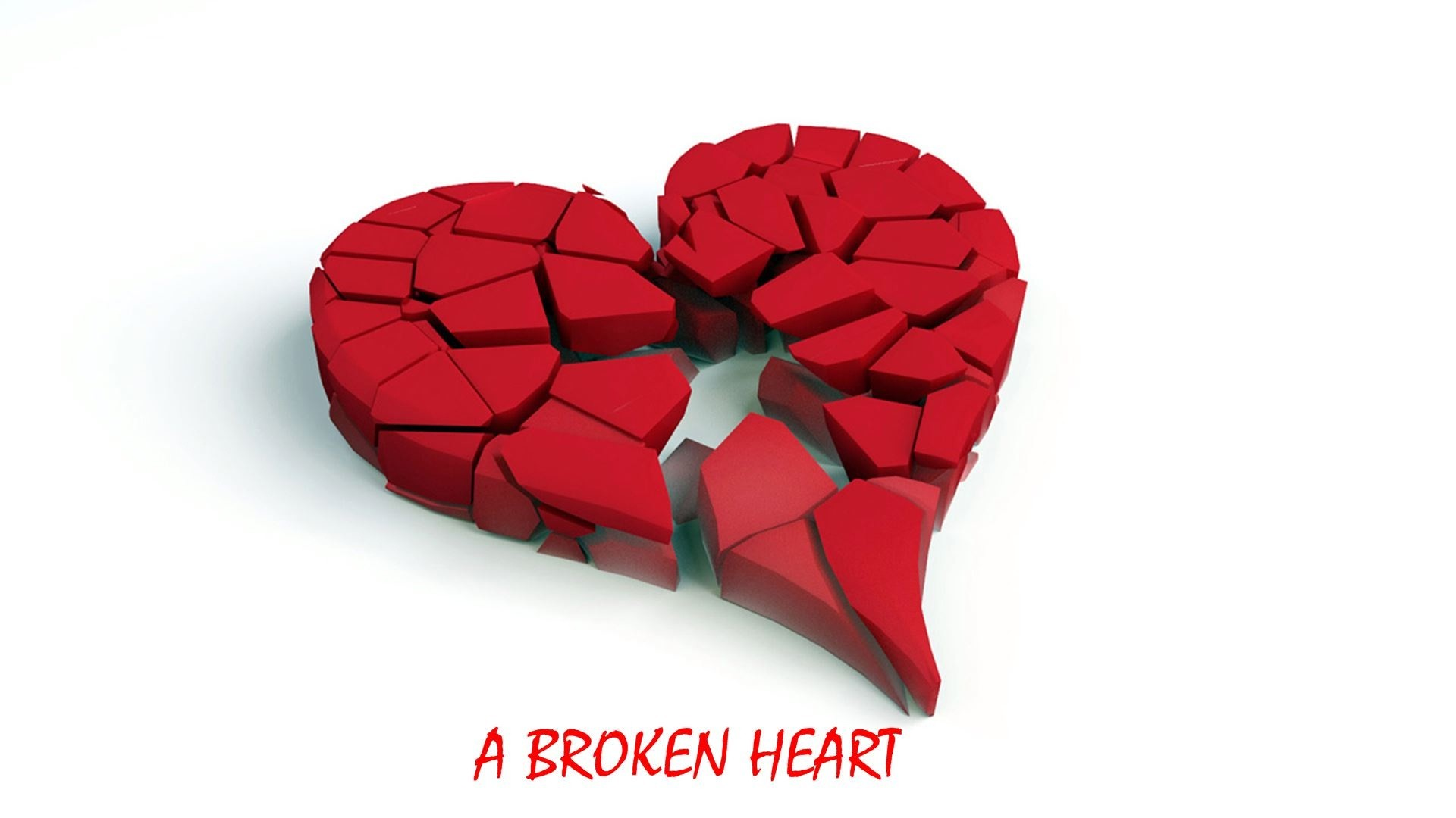 Broken Heart Background ·①