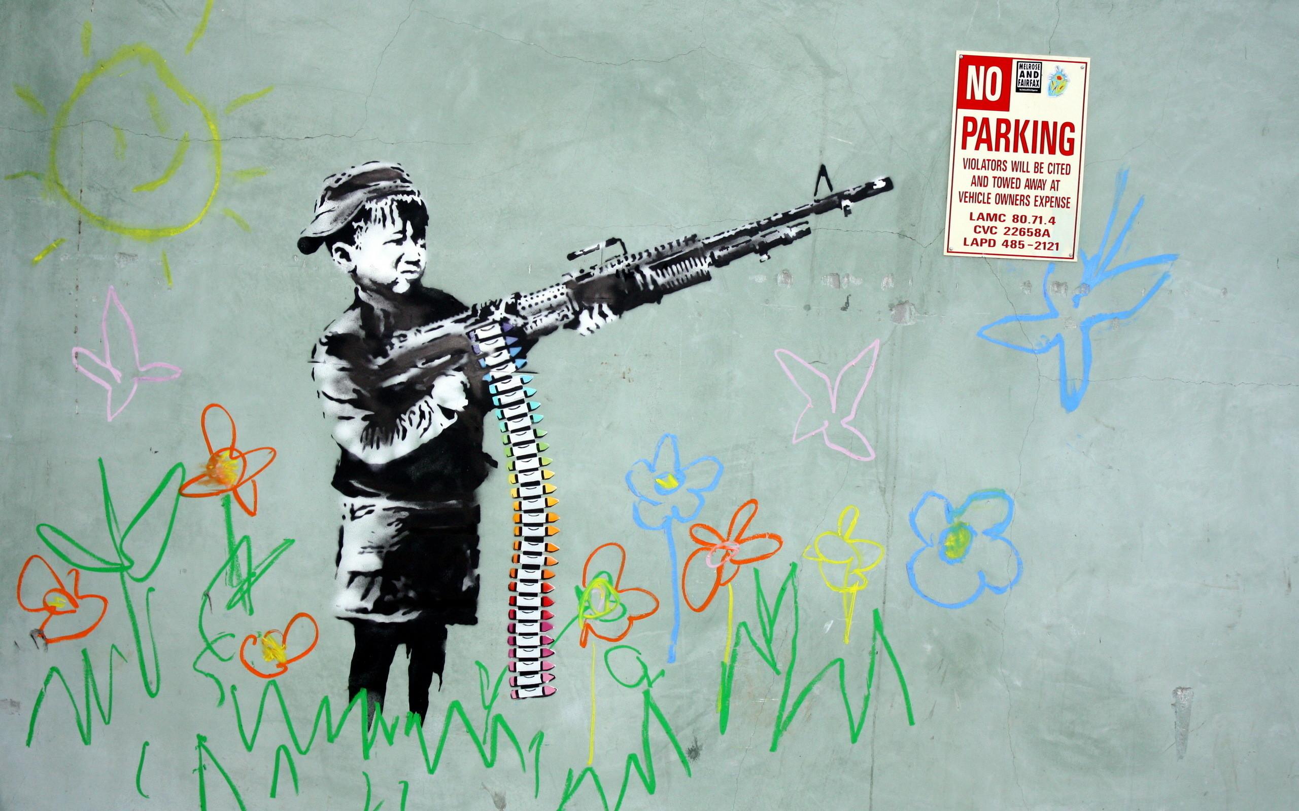 Banksy Wallpaper Hd 183 ① Wallpapertag