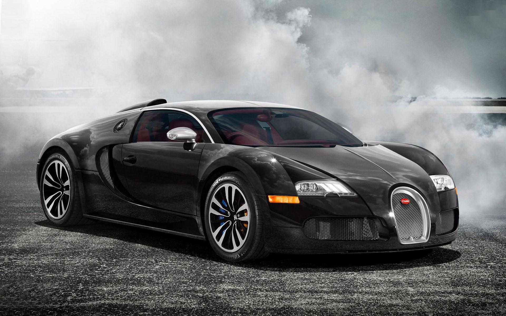 Bugatti Veyron 2015 Black
