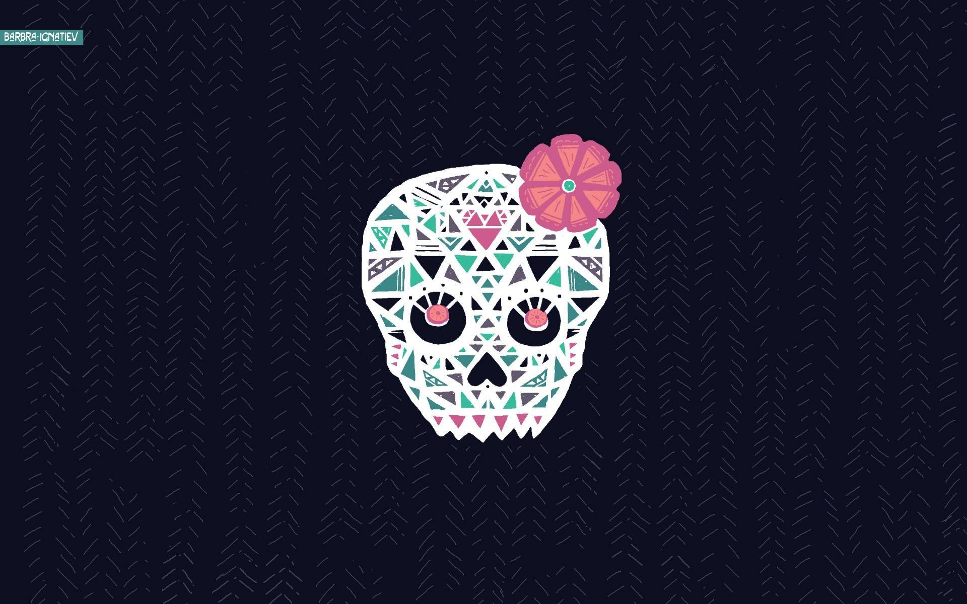 Sugar Skull Wallpaper Download Free Cool Full Hd Wallpapers