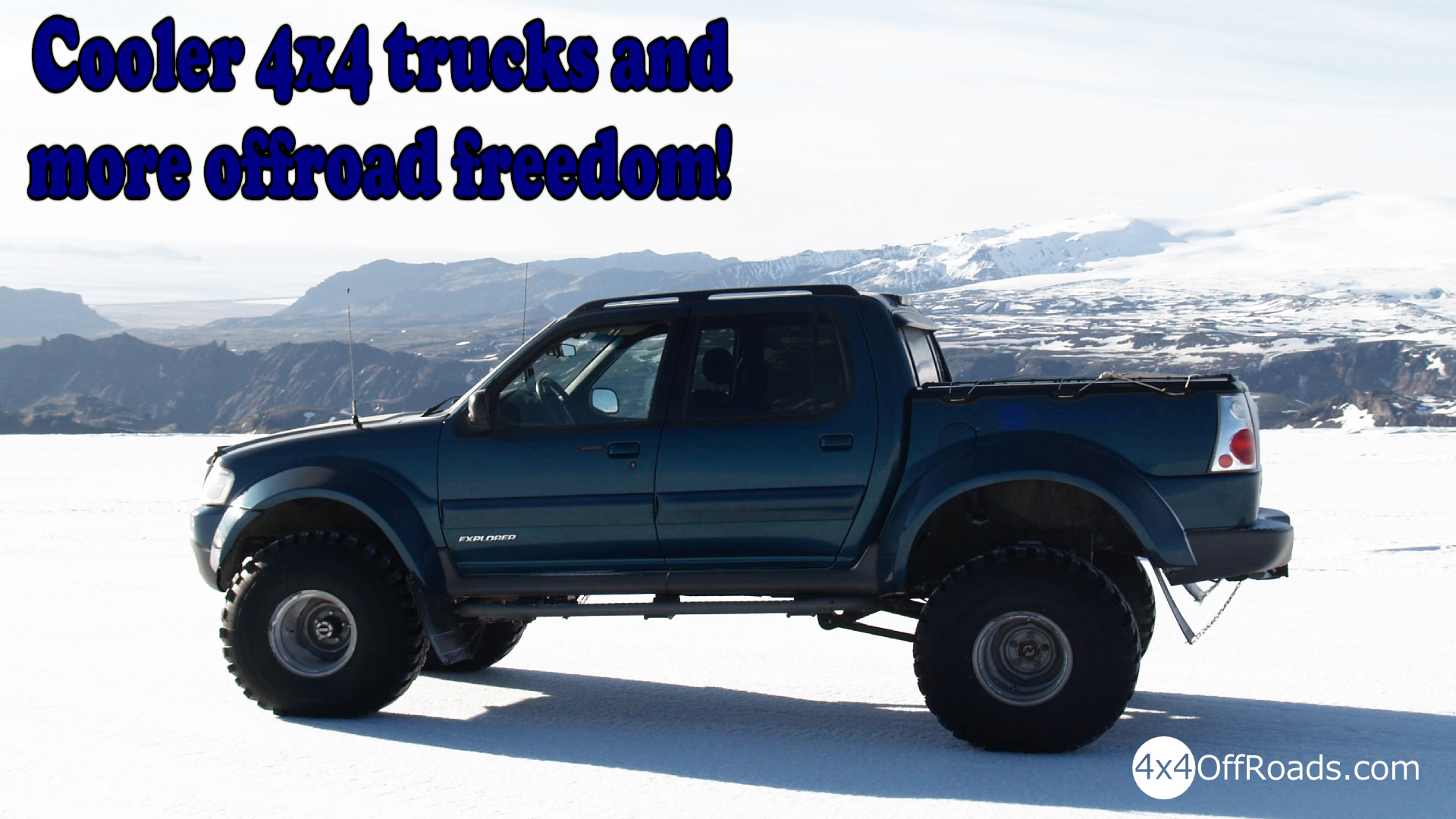 Lifted Trucks Wallpapers ·①