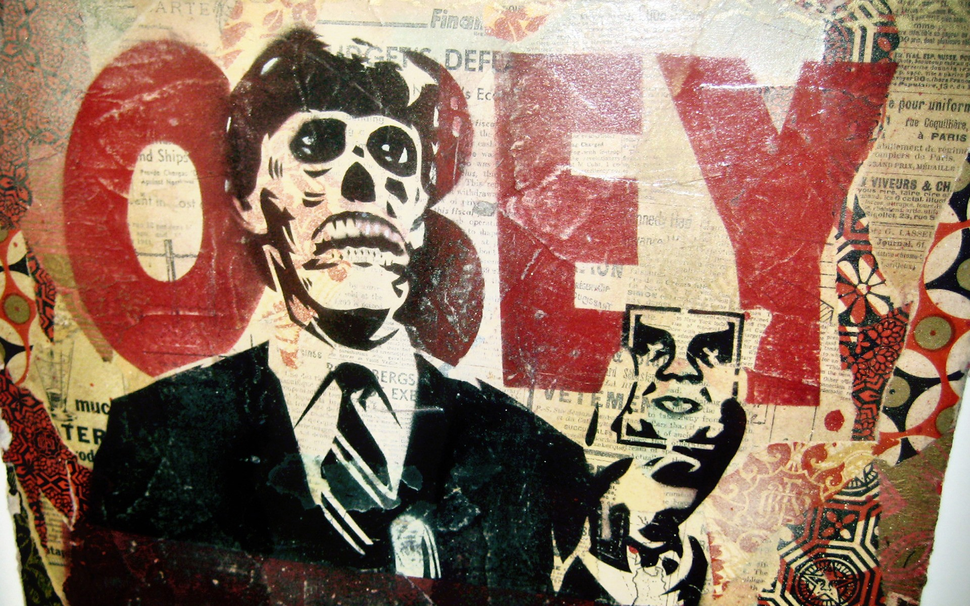 obey wallpaper 183�� download free awesome wallpapers for