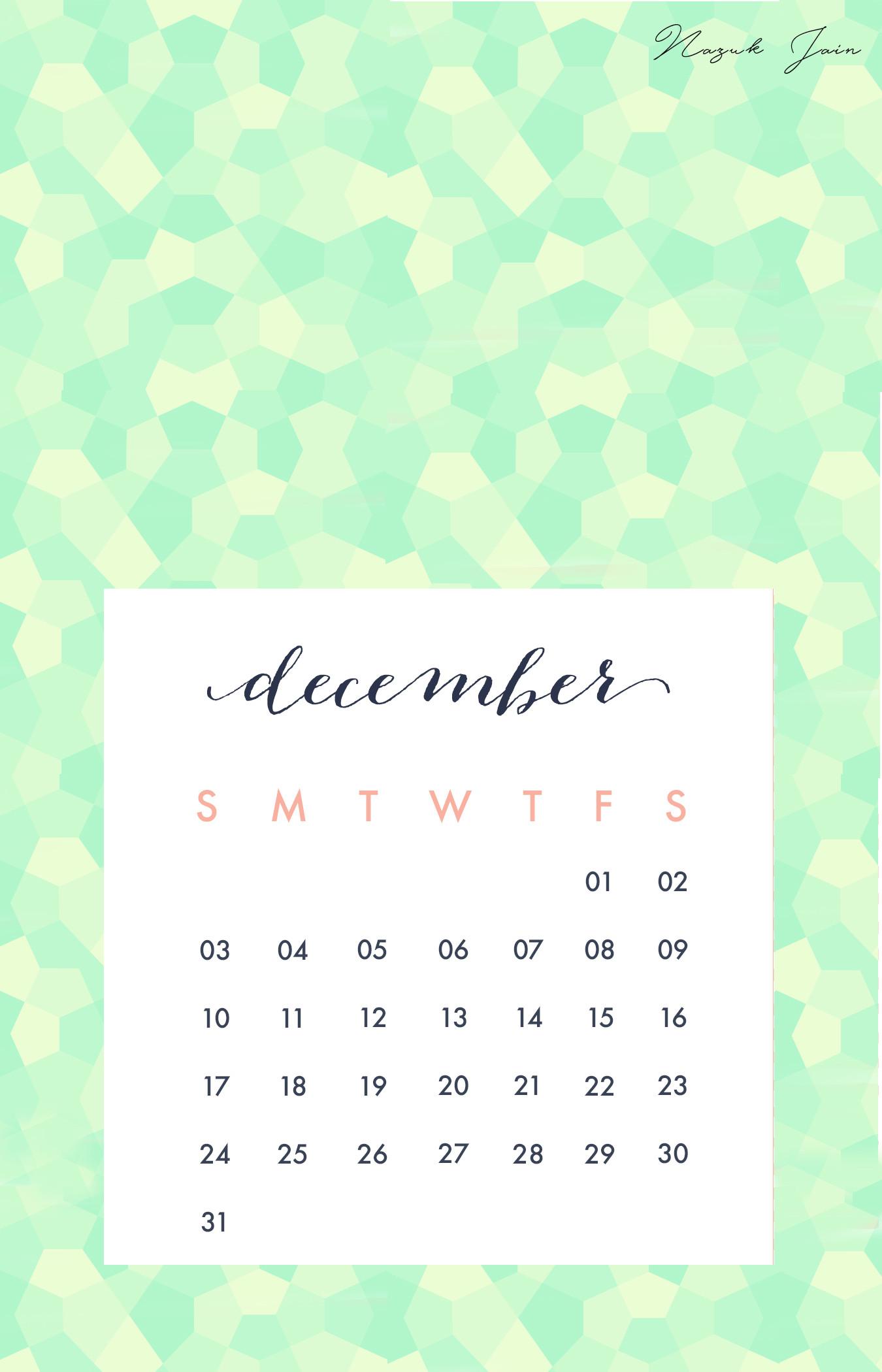 Desktop Calendar Wallpaper With Reminder : Desktop wallpapers calendar december ·①