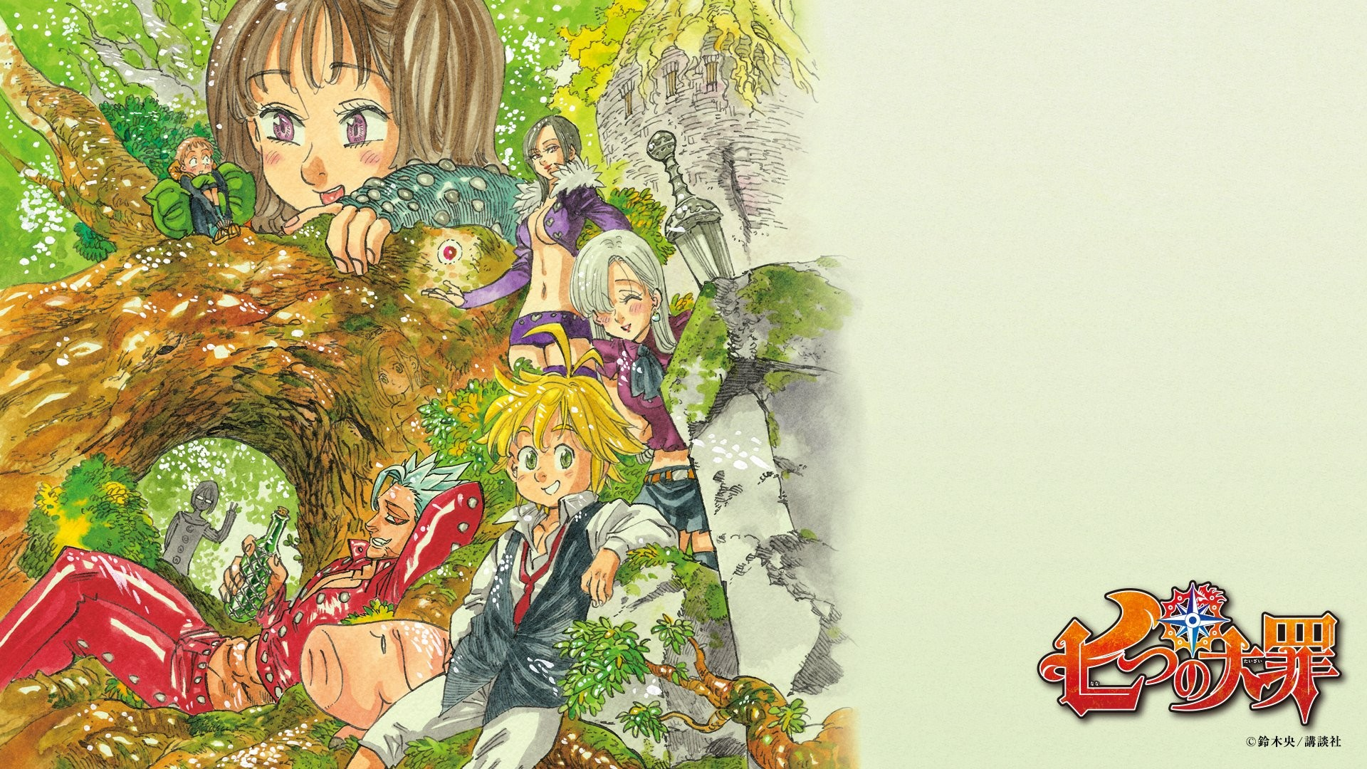 Seven Deadly Sins Anime wallpaper ·① Download free ...