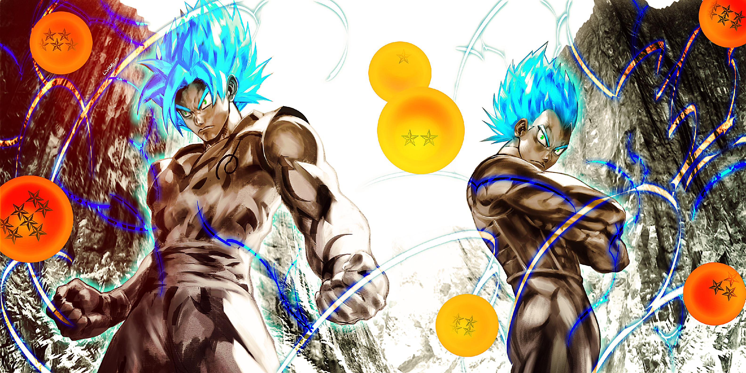 Dbz Dual Screen Wallpapers: Dragon Ball Super Wallpapers ·① WallpaperTag