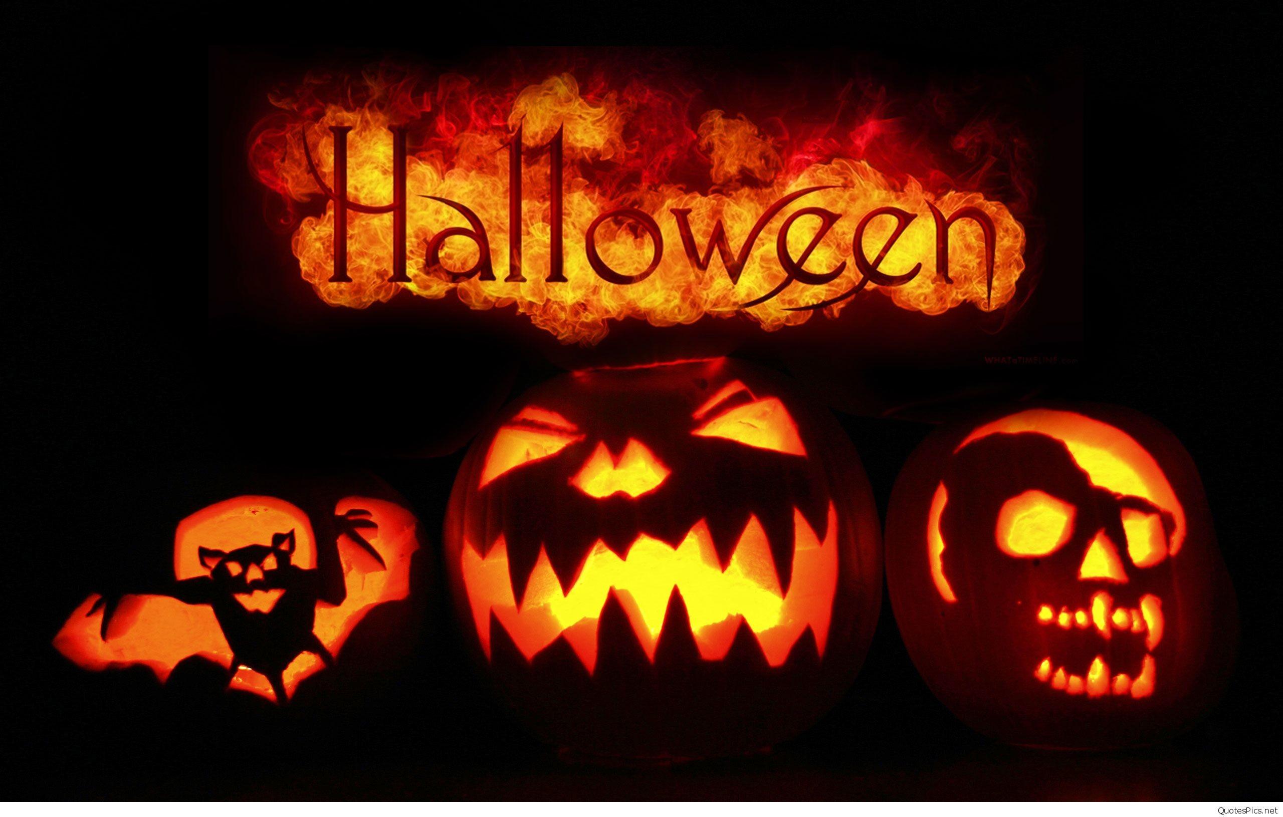 Scary Happy Halloween Wallpaper Wallpapertag