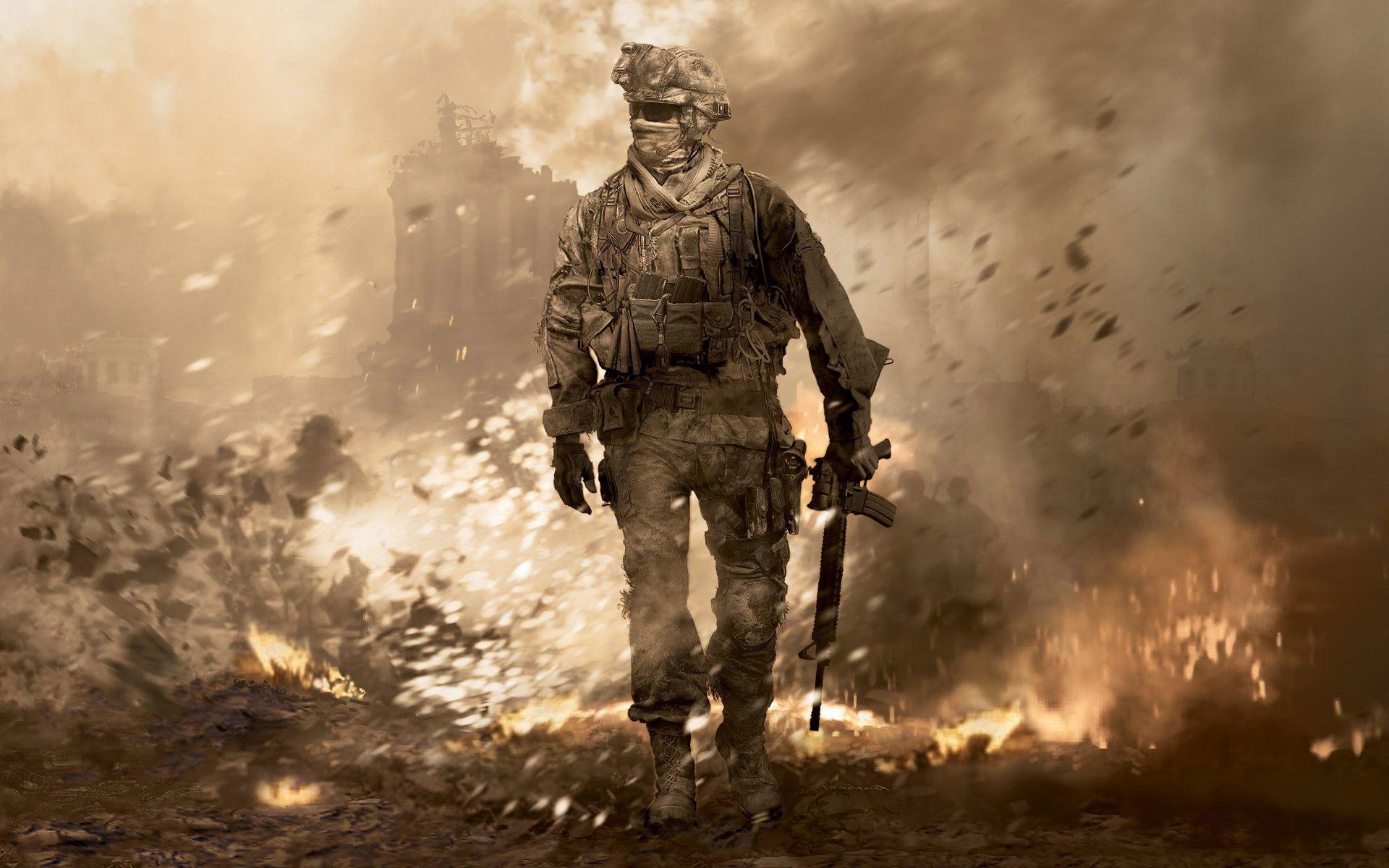 Modern Warfare 2 Wallpaper Hd ①