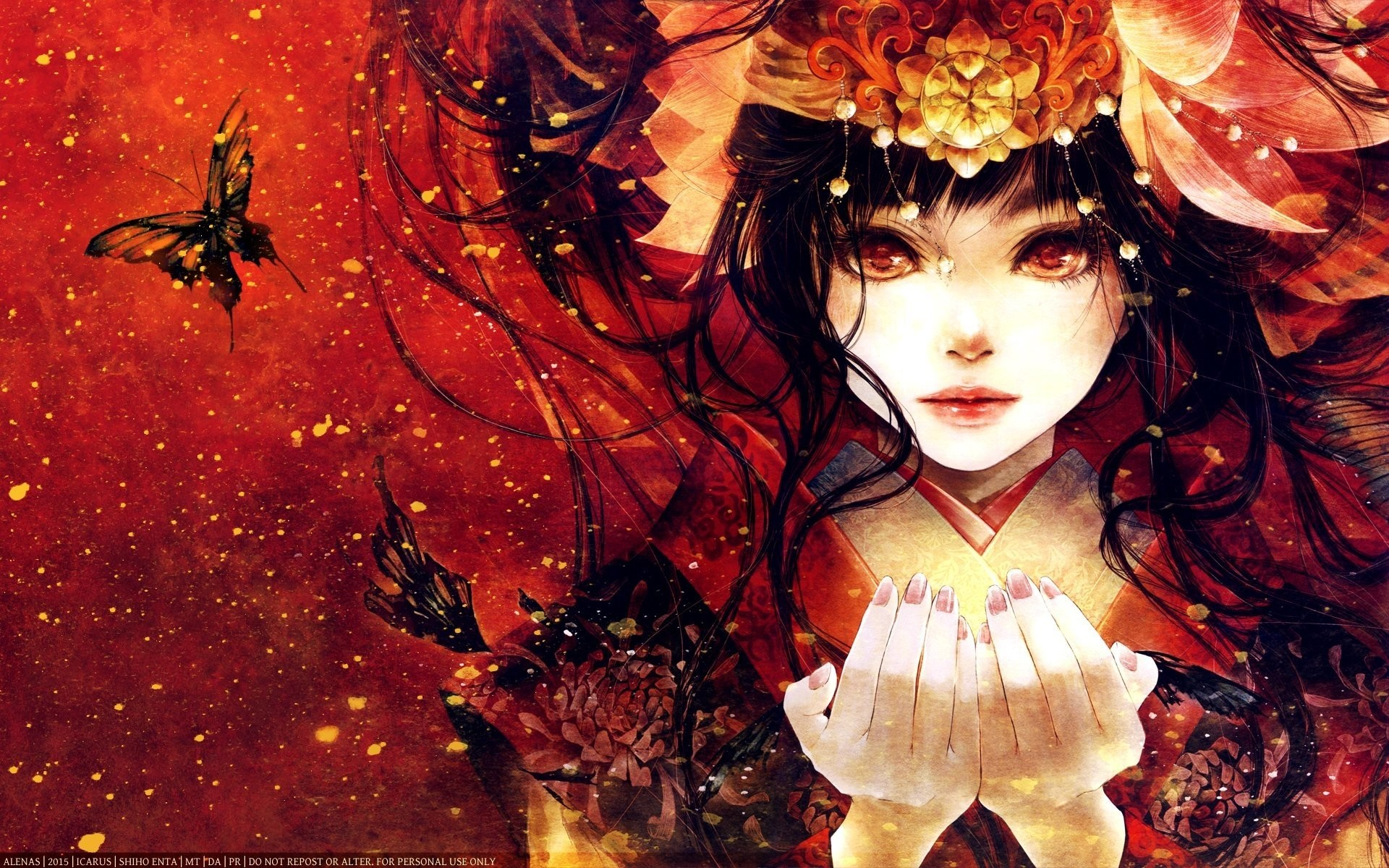 Anime girl wallpaper ·① Download free beautiful HD ...