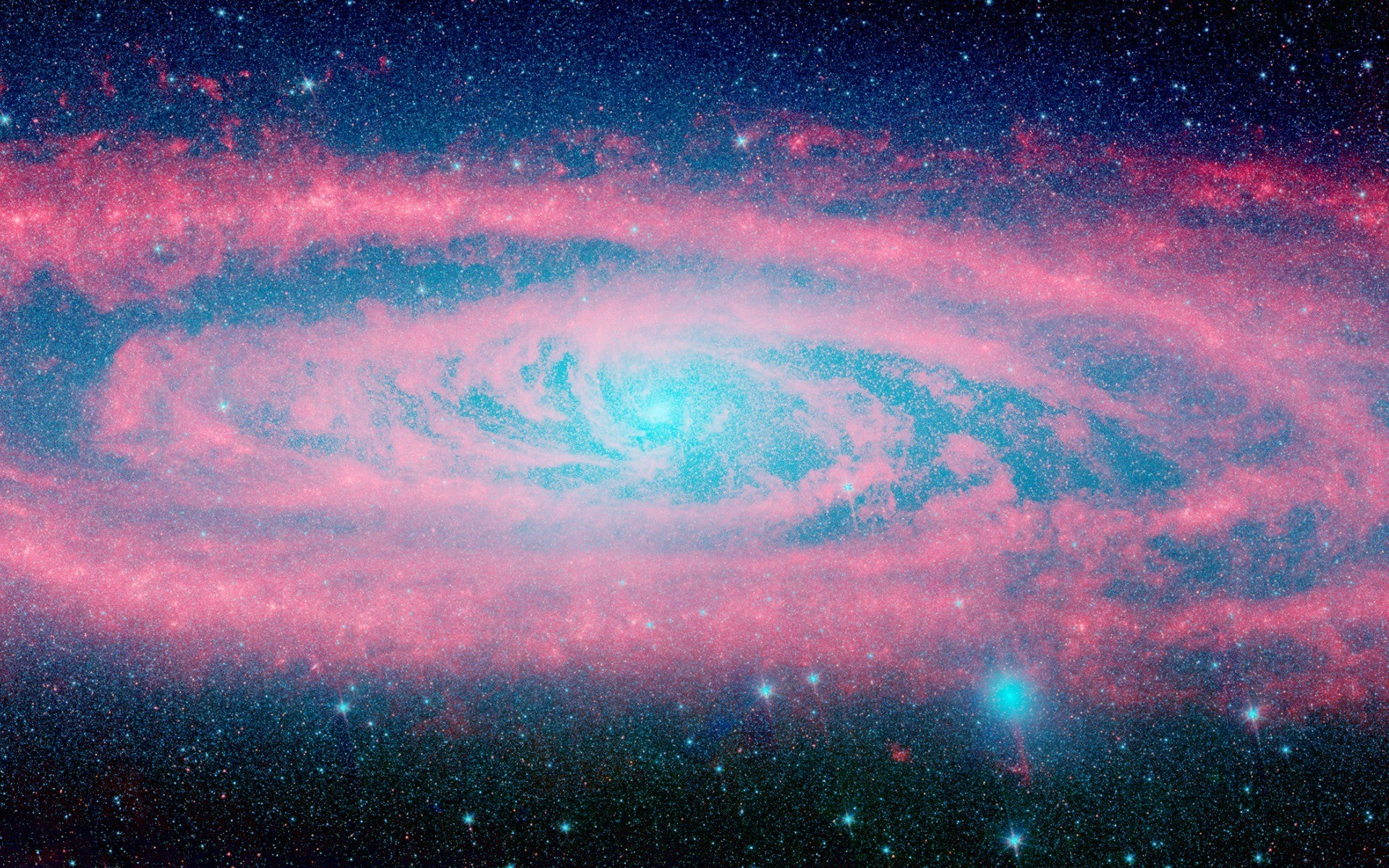 1920x1200 Free HD Galaxy Backgrounds Tumblr Download Wallpaper