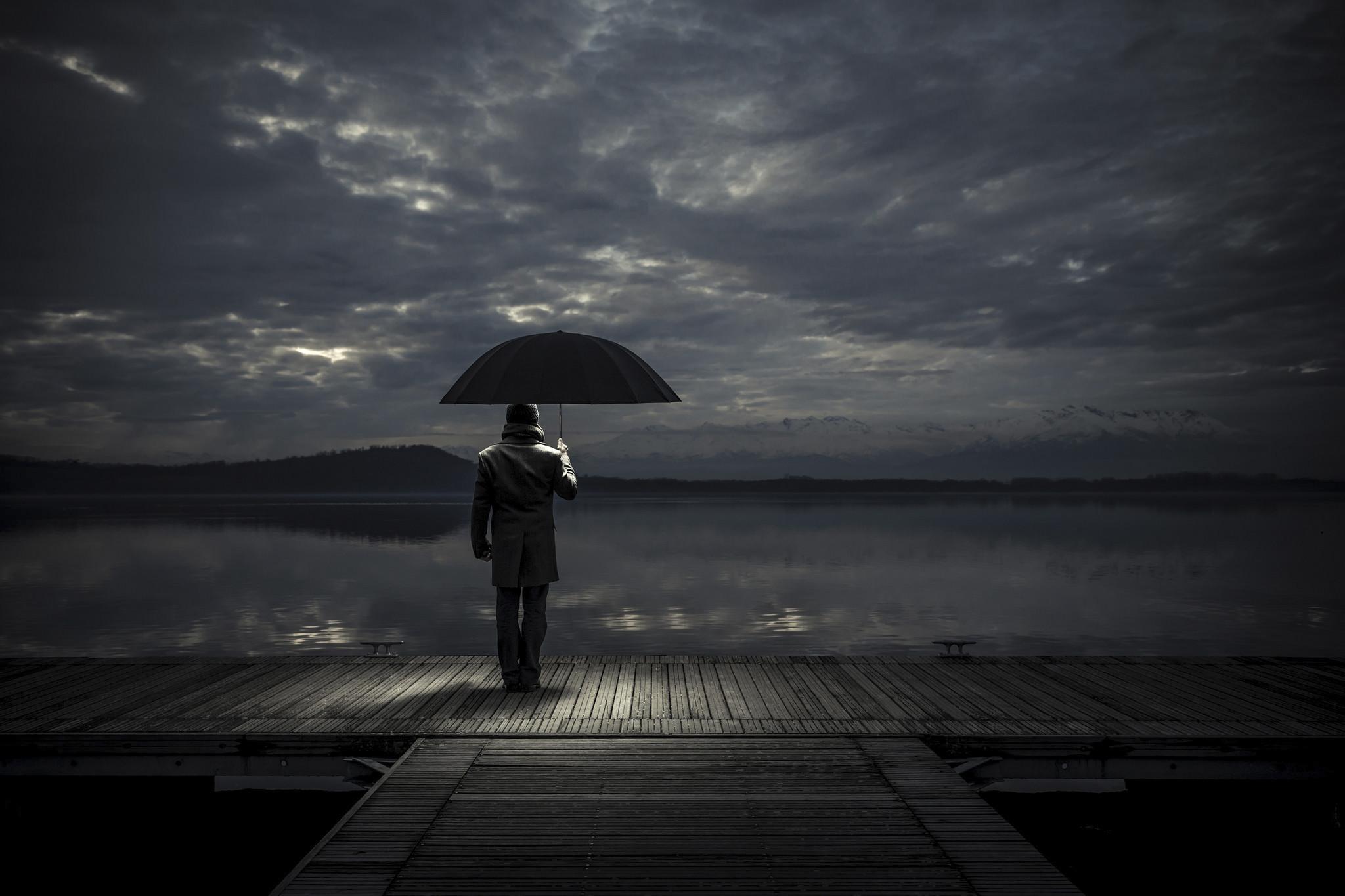 sad rainy pics - HD2048×1365