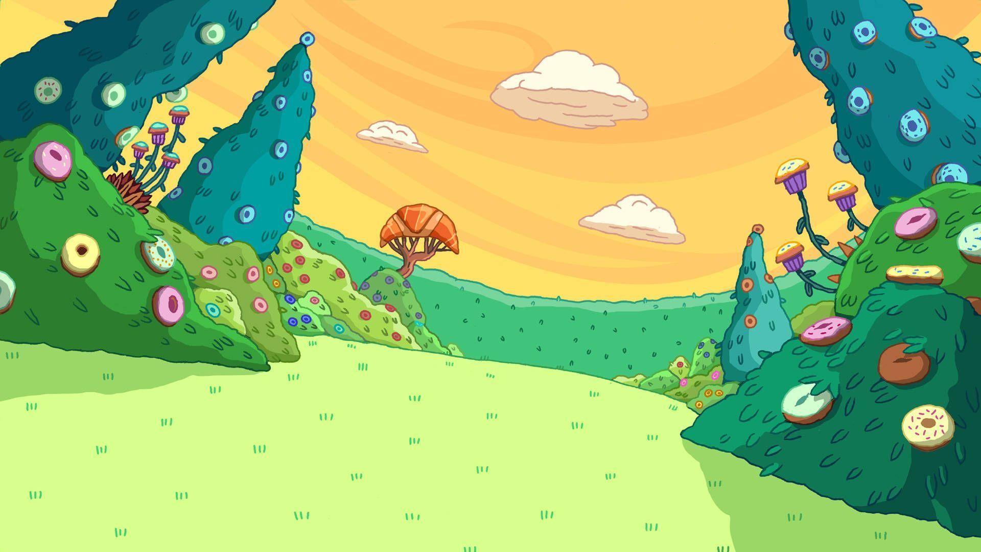 Adventure Time Desktop Background Wallpapertag