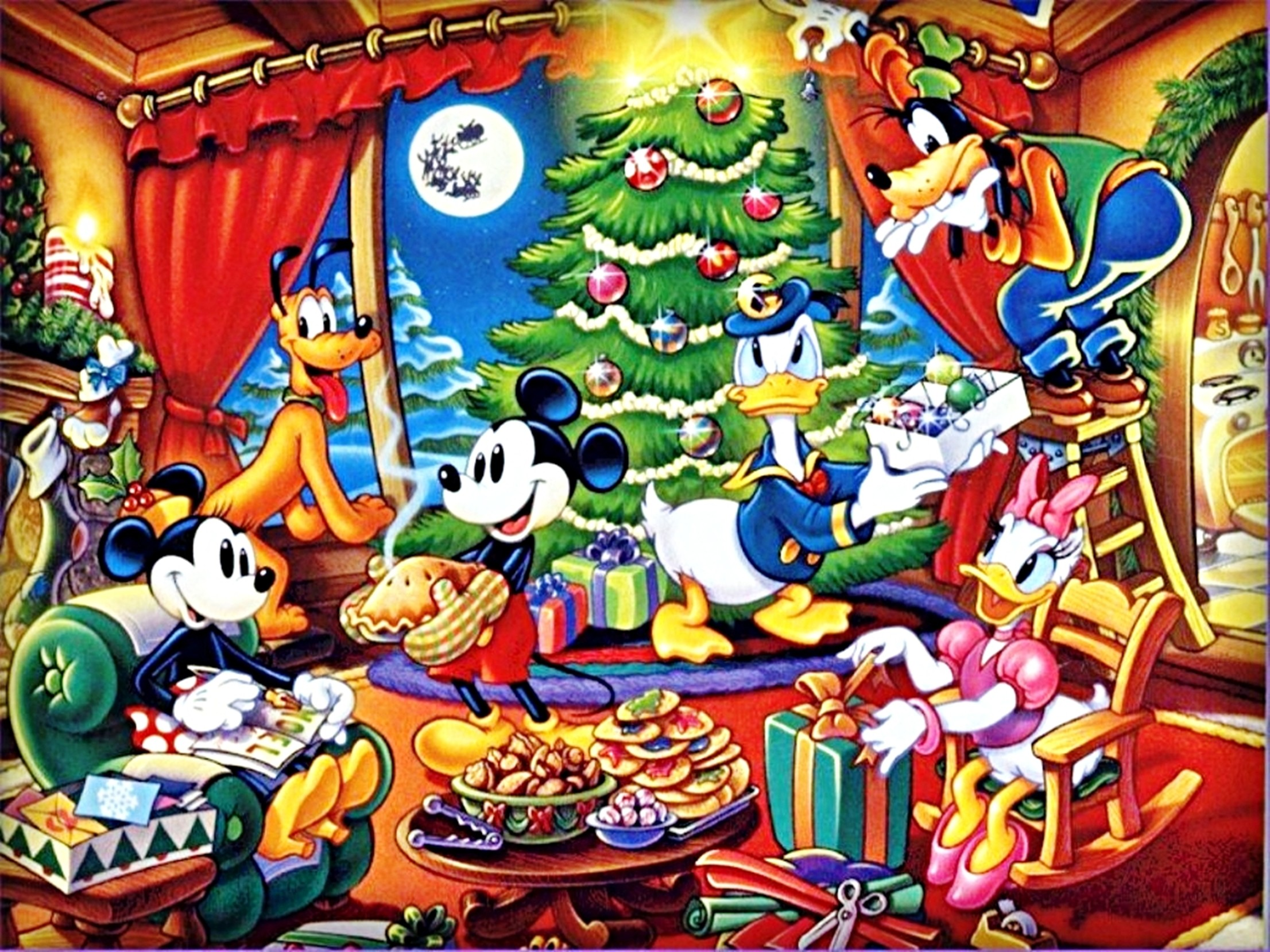 125026 disney christmas wallpaper 2212x1659 for tablet