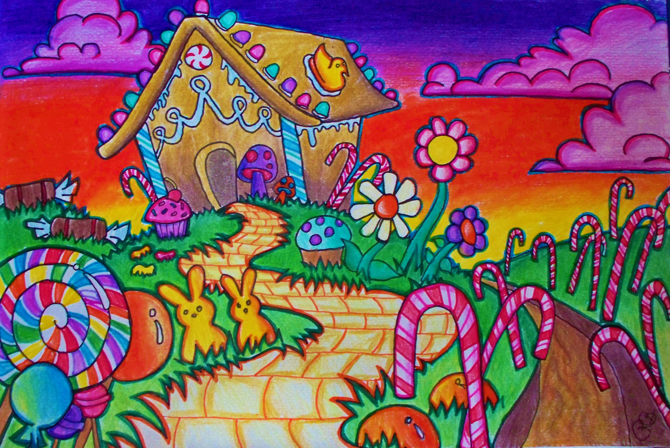 Candyland Wallpaper 183 ① Wallpapertag