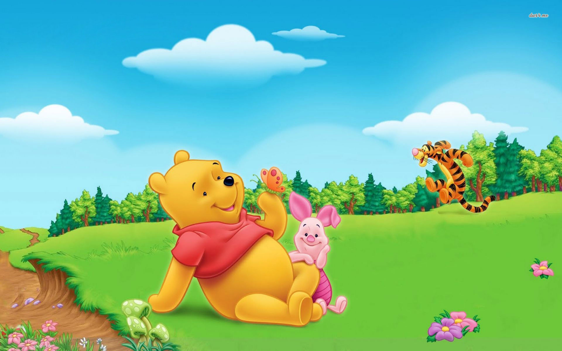 Winnie The Pooh Backgrounds Wallpapertag