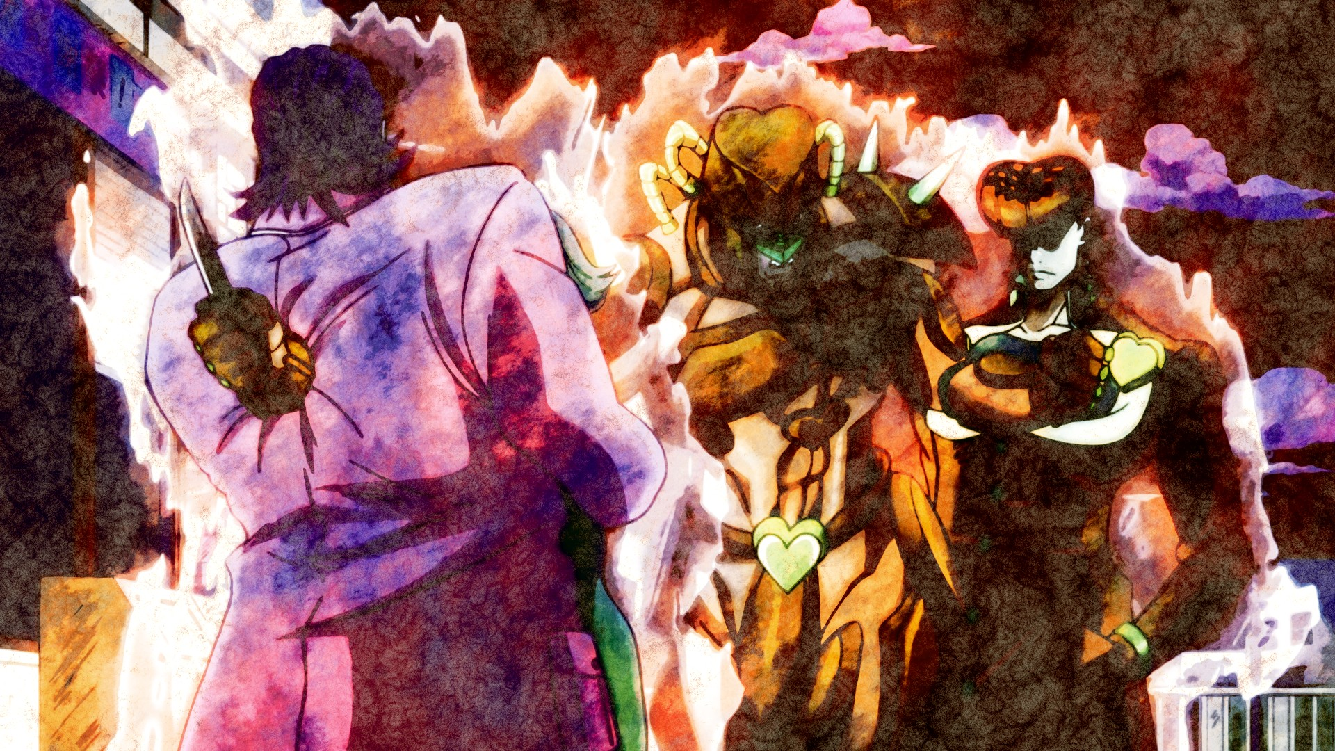 Jojo Bizarre Adventure wallpaper ·① Download free awesome full HD wallpapers for desktop and ...