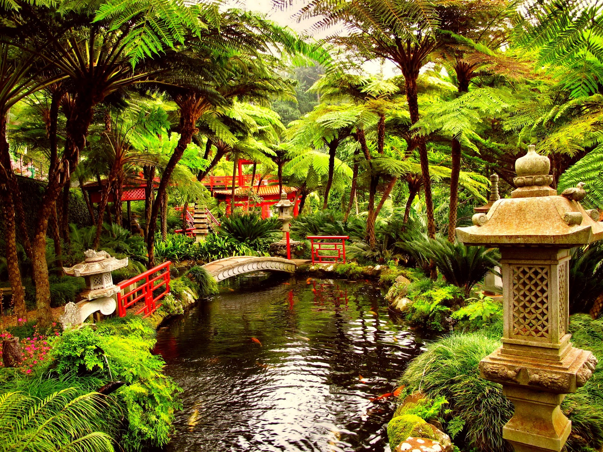 Japanese Garden Desktop Wallpaper ·① WallpaperTag