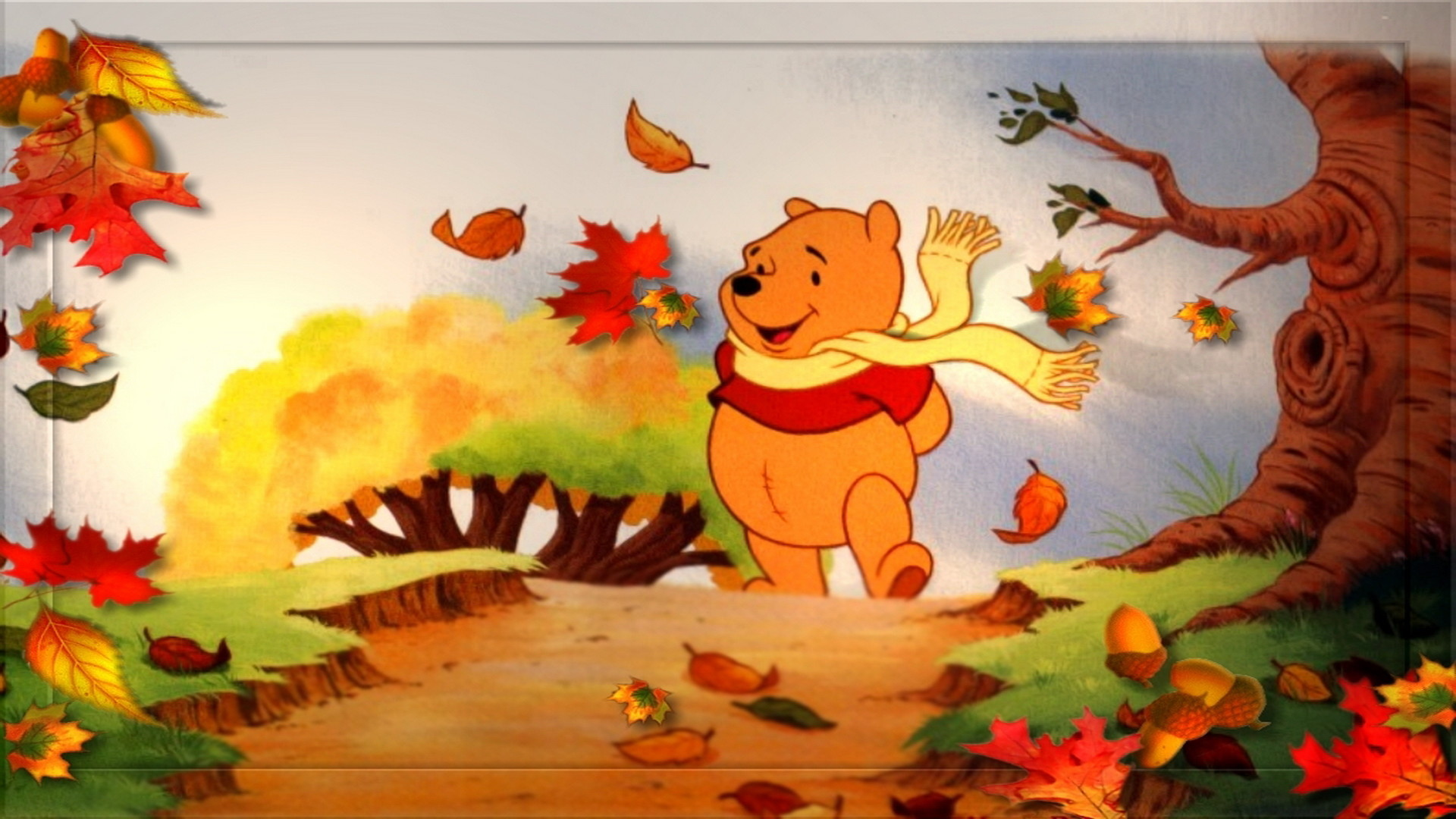 1920x1080 Disney Thanksgiving Wallpapers Background Download