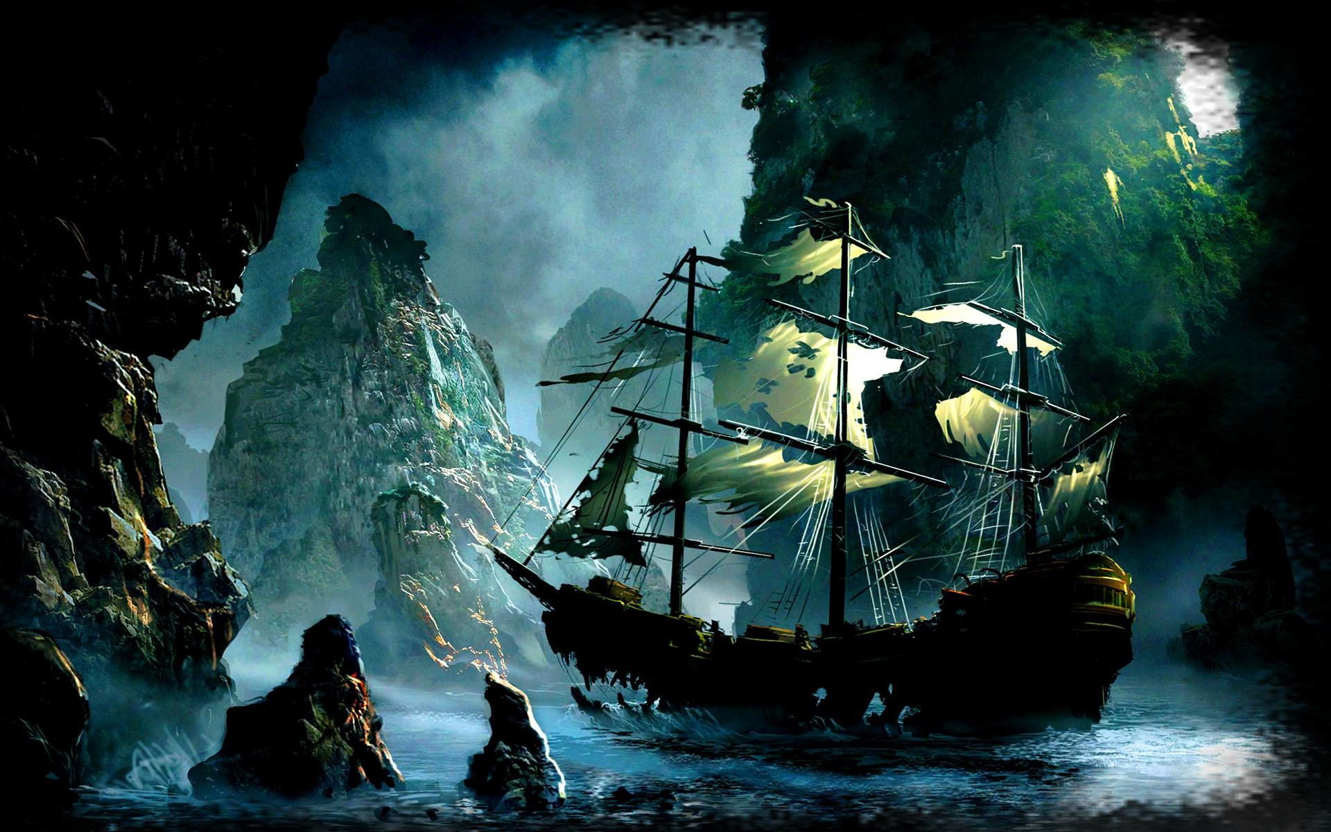 Pirate Ship Wallpapers on
