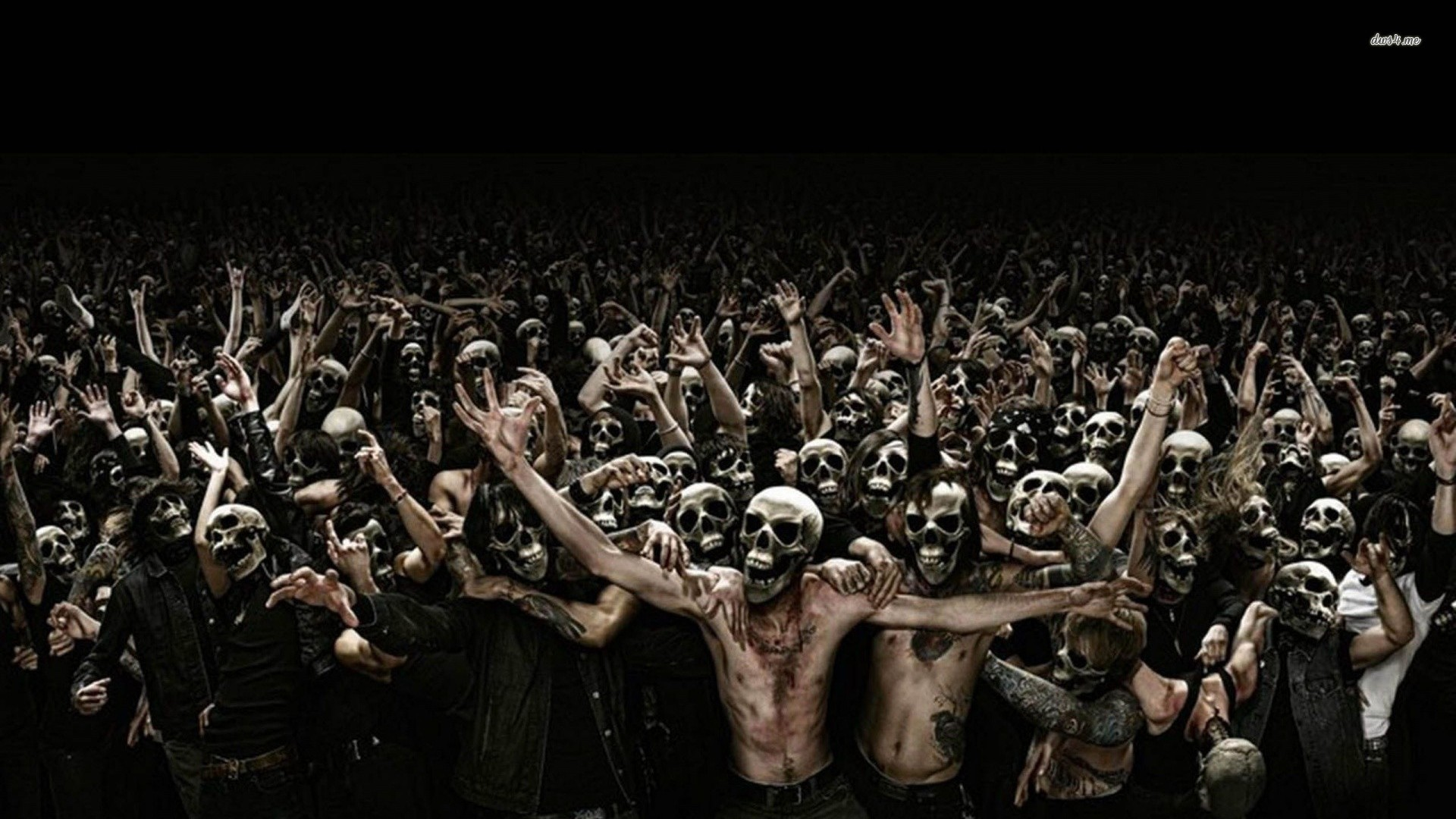 Zombie wallpapers hd impremedia 1920x1080 mass zombie attack wallpaper hd cute wallpapers voltagebd Gallery