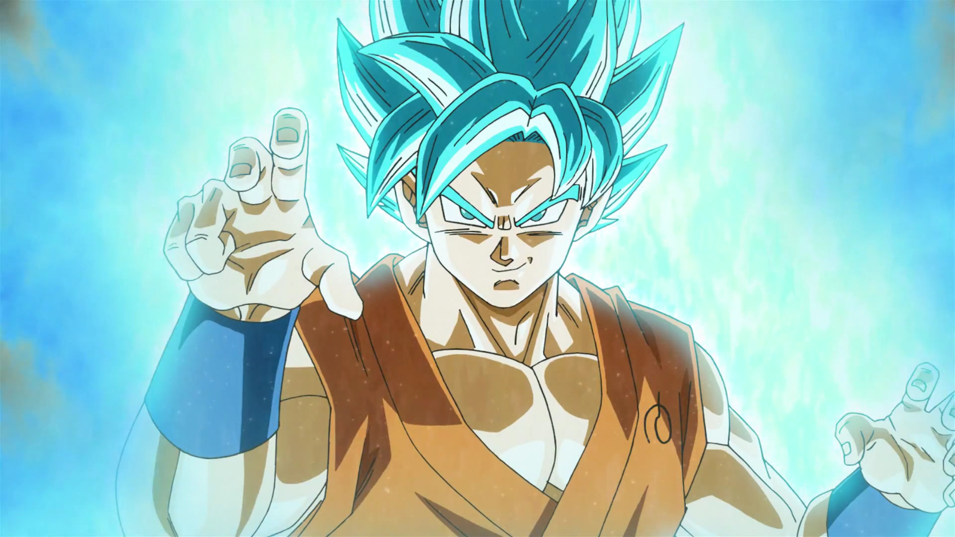 goku blue wallpapers ·①