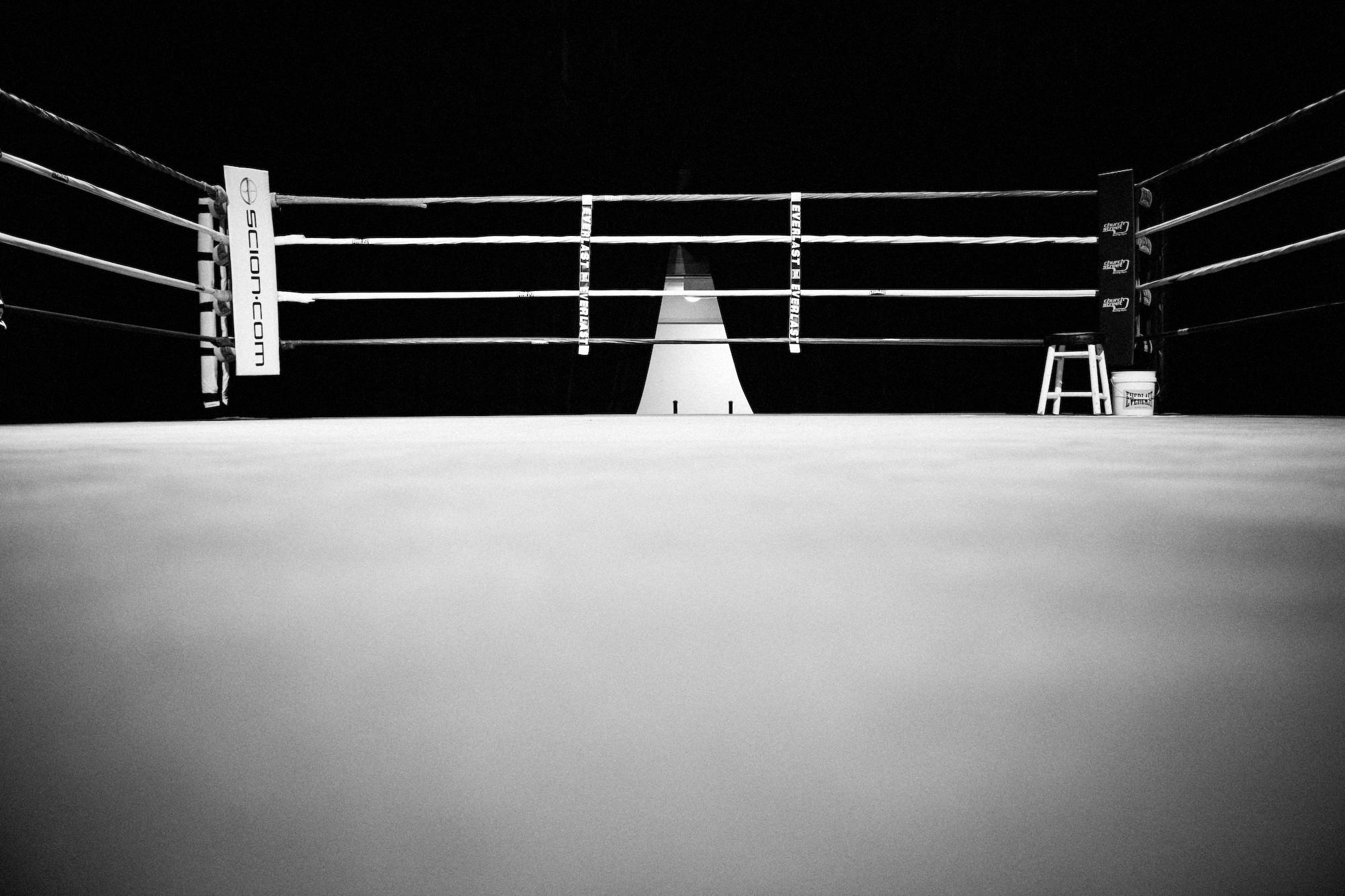 Ring De Boxeo Background