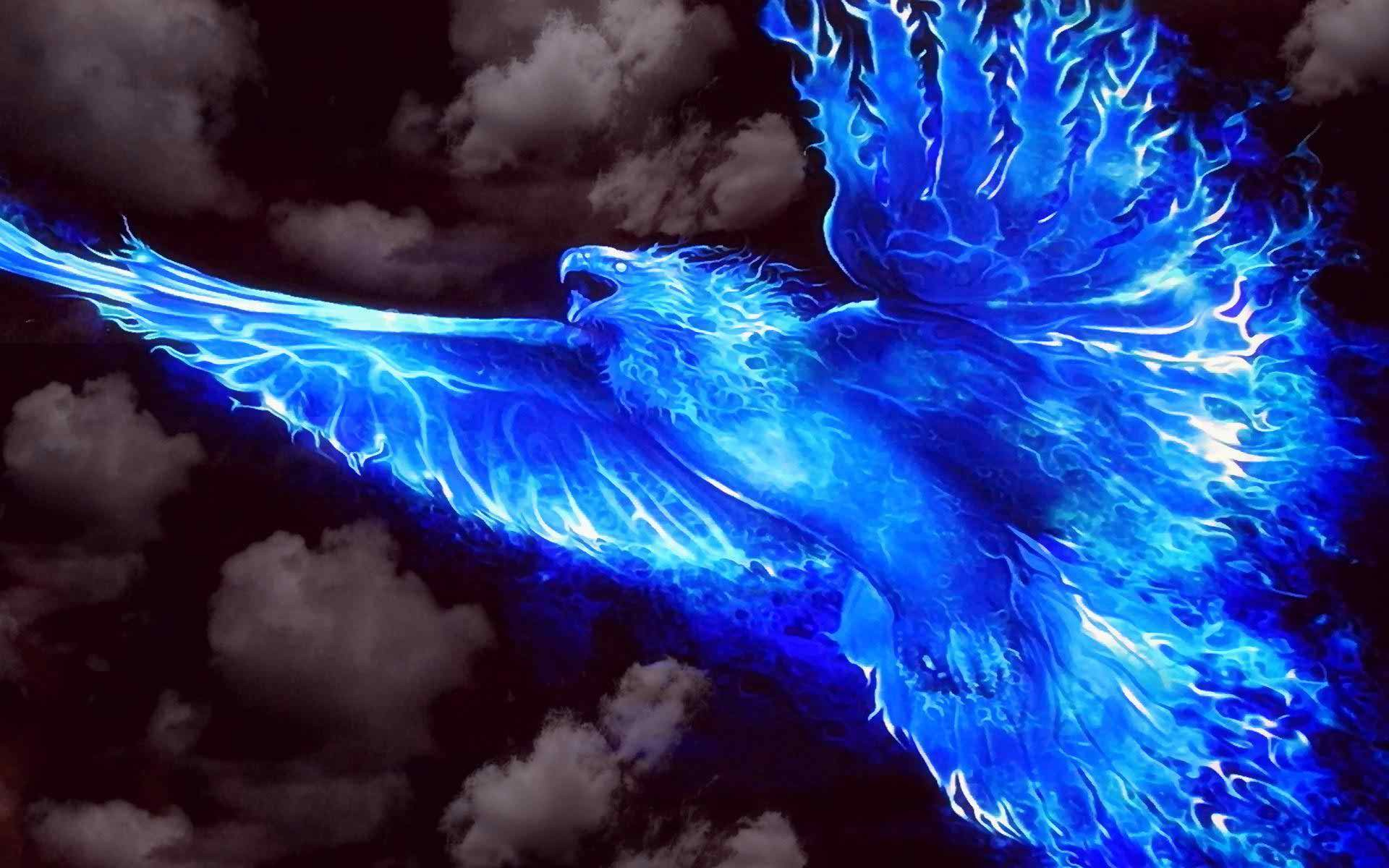 1920x1200 Blue Fire Wallpapers Desktop Background Download Free