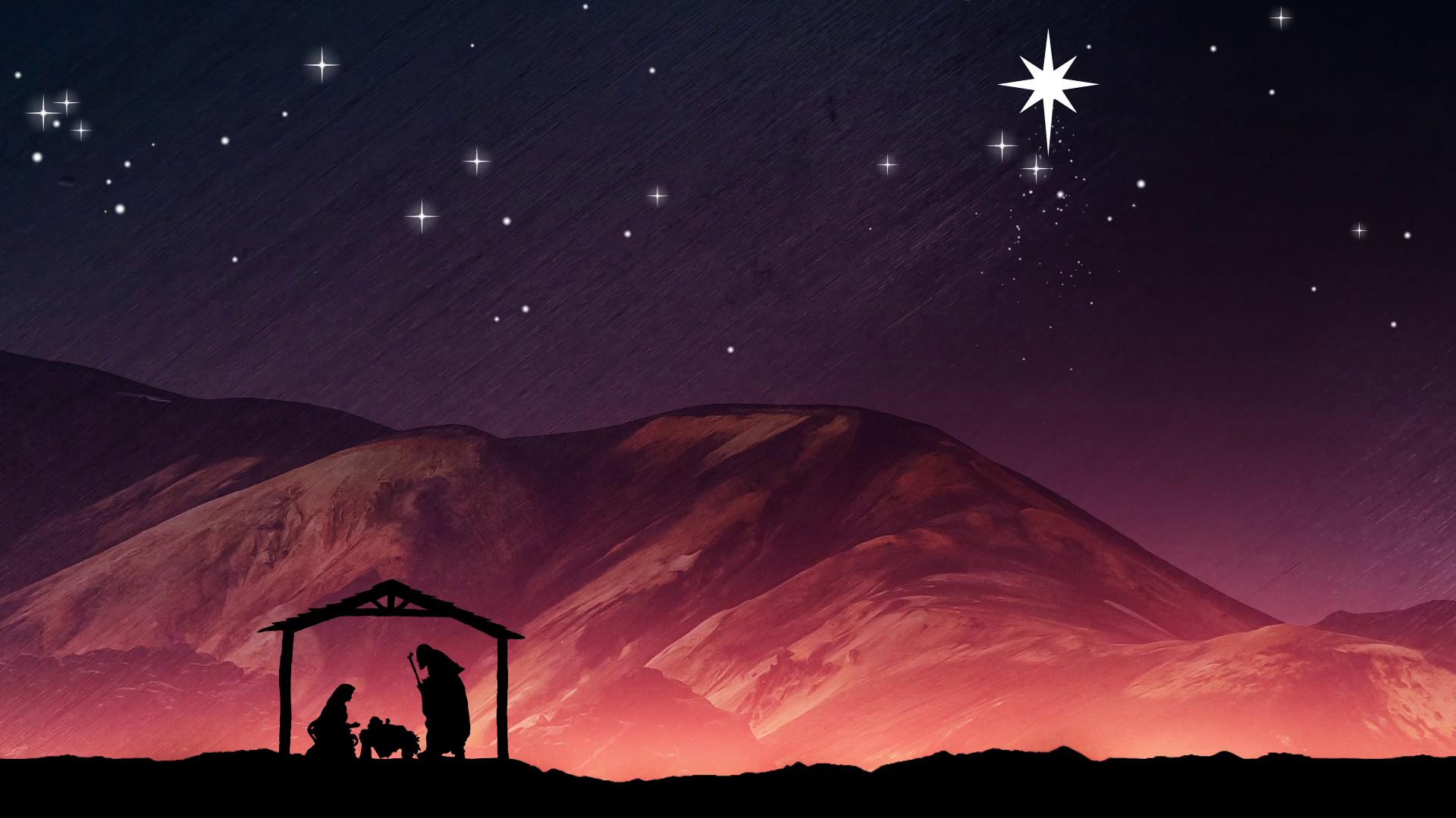 Nativity Scene Backgro...