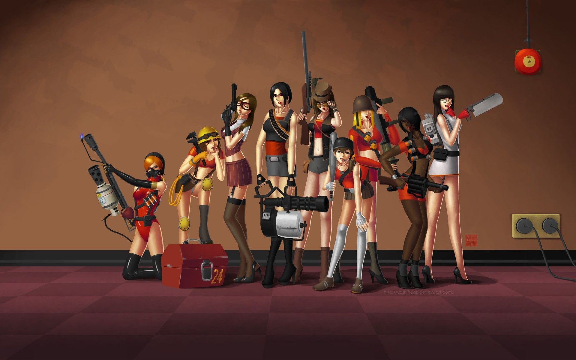 Team Fortress 2 Wallpapers Wallpapertag