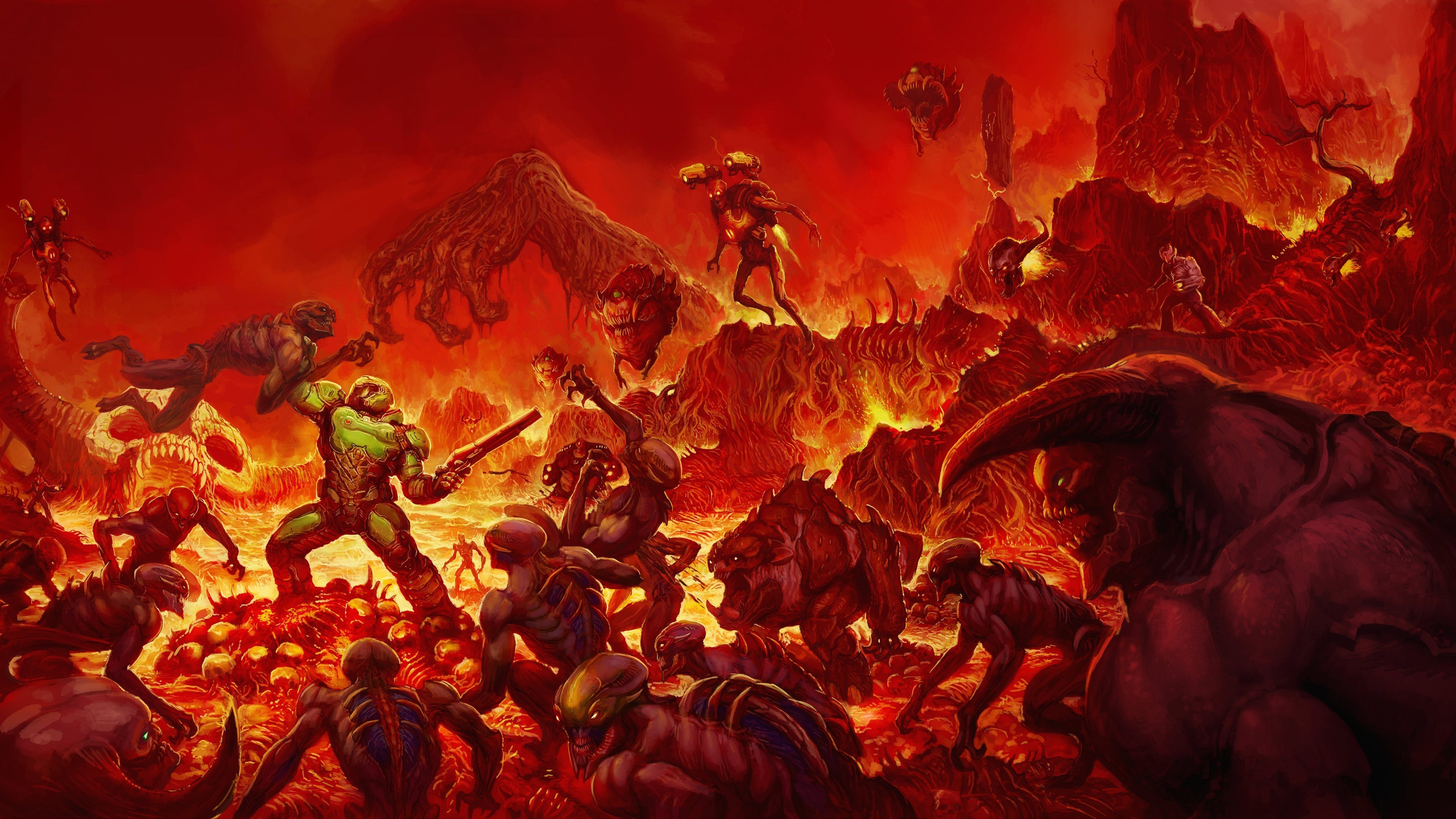 Doom Background Download Free Awesome High Resolution