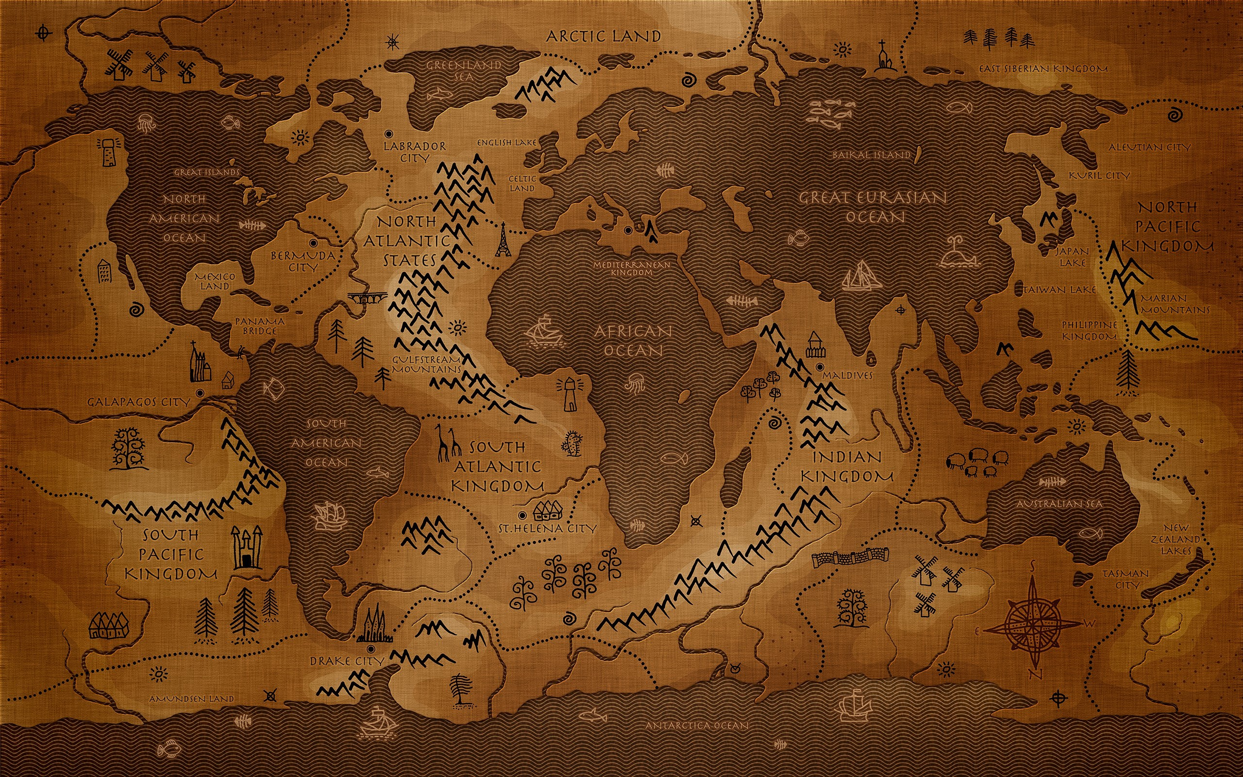 World map wallpaper high resolution images of world atlas gumiabroncs Choice Image