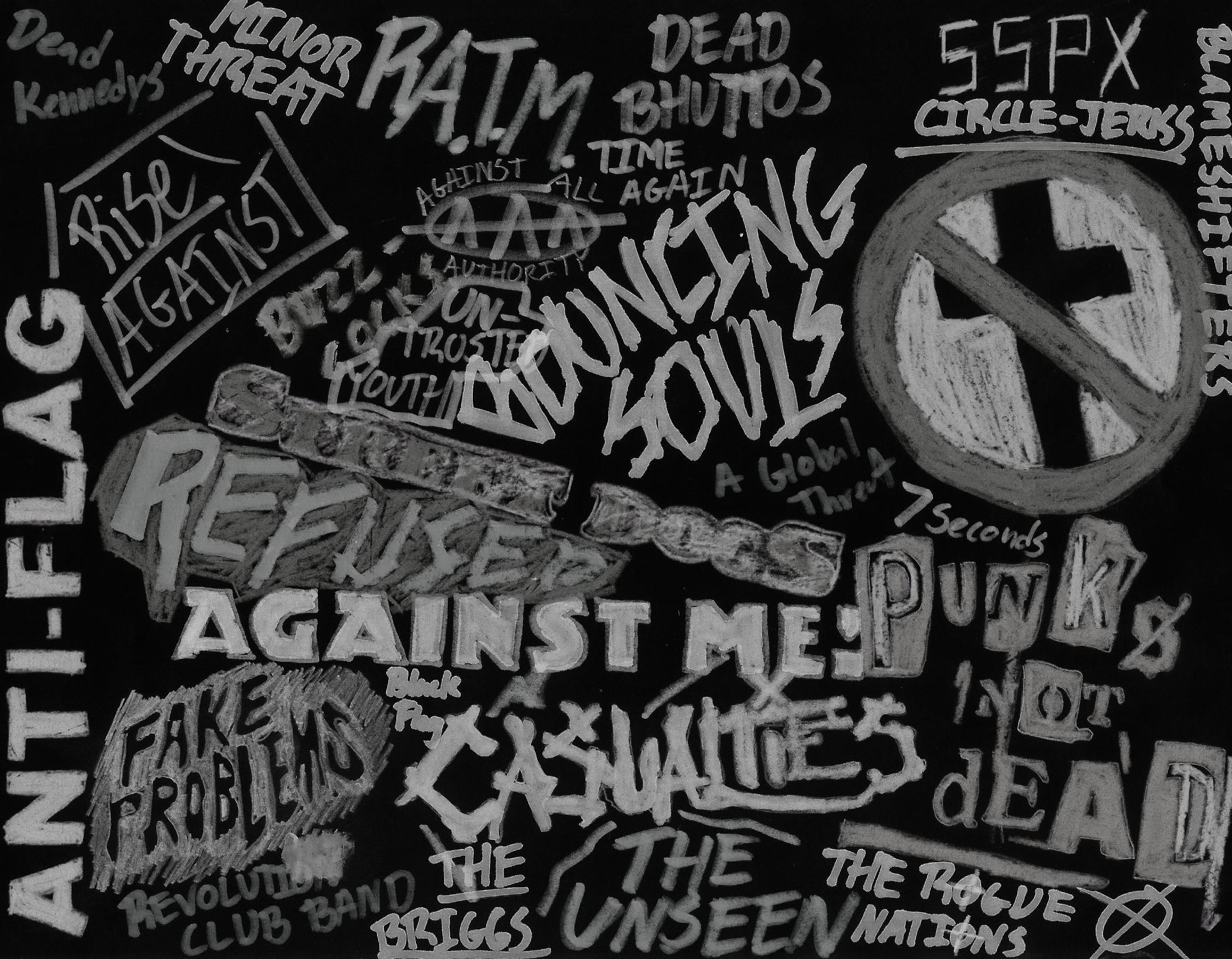 Punk Rock Wallpaper ·①