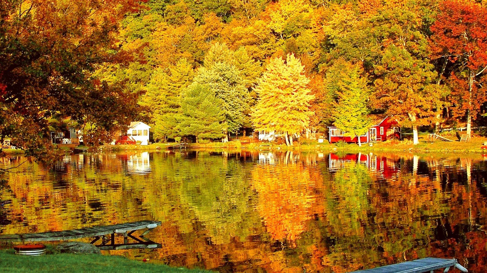Autumn Scenes Wallpaper ·① WallpaperTag