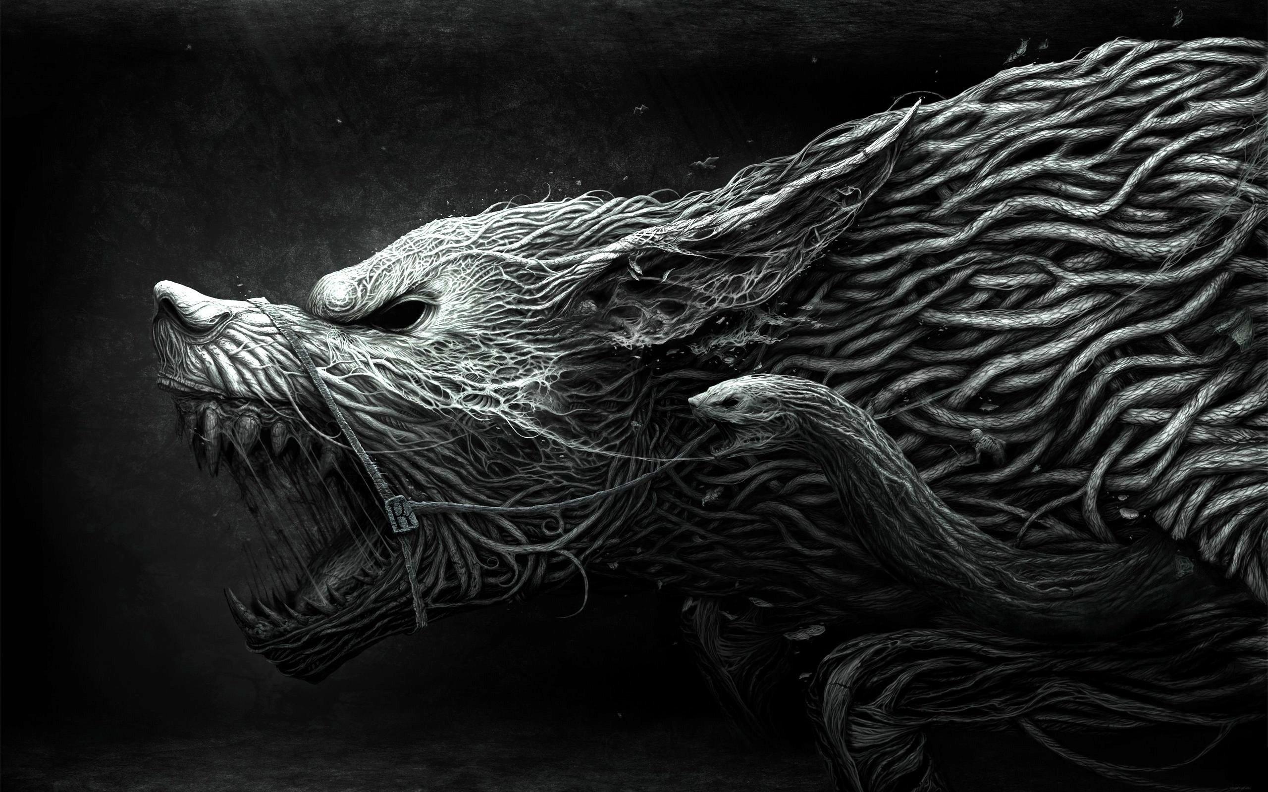 Dark Wolf Wallpaper ① Wallpapertag
