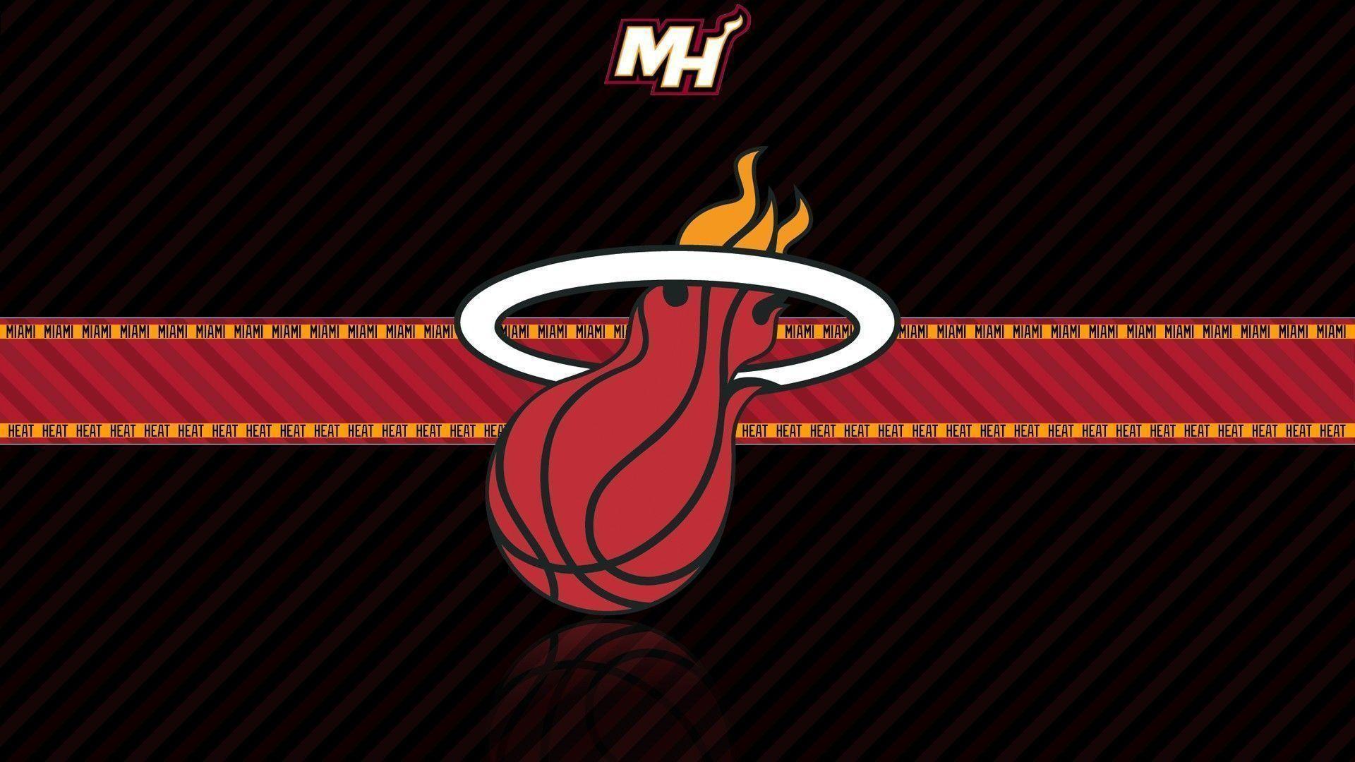 Miami Heat Logo Wallpaper 2018 183 ① Wallpapertag