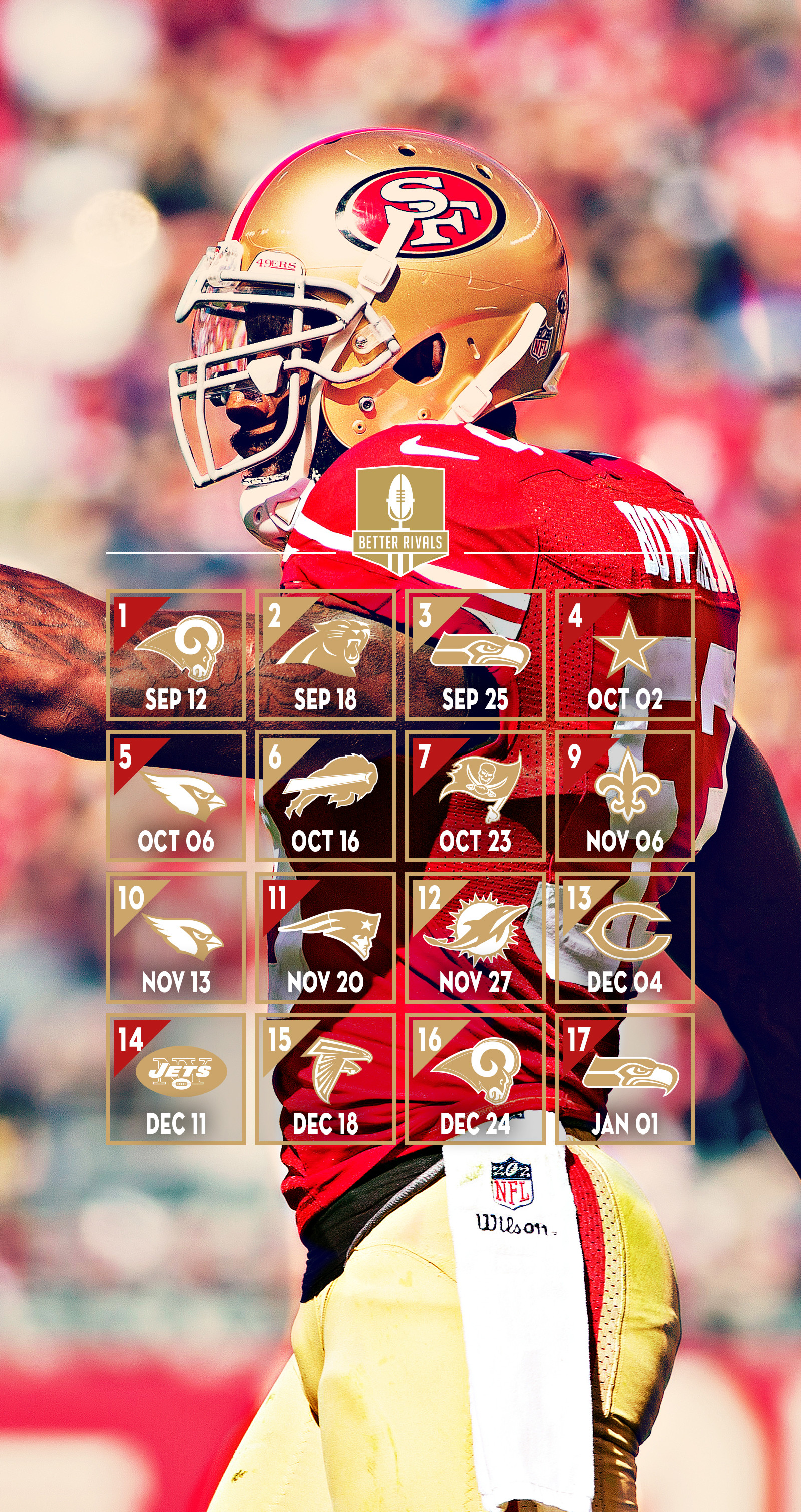 1600x3020 New 49ers Wallpapers for Desktop and Mobile
