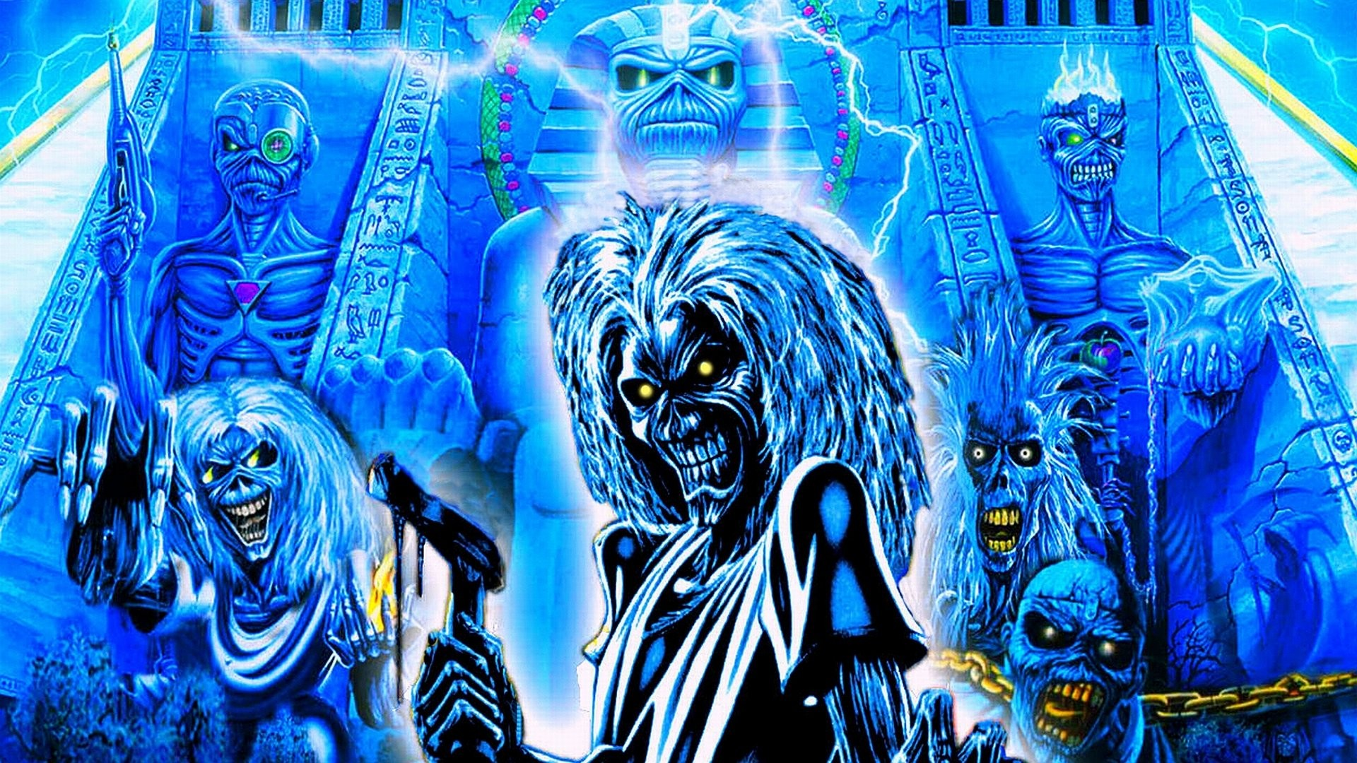Iron Maiden Wallpaper 2149x1080 Tablet