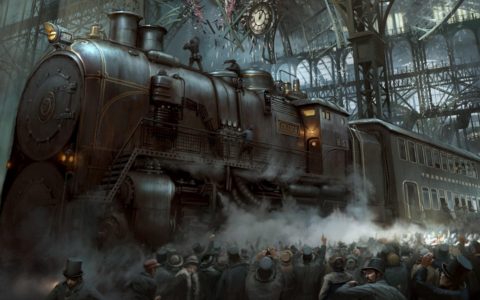 Steampunk wallpaper Download free HD backgrounds for desktop