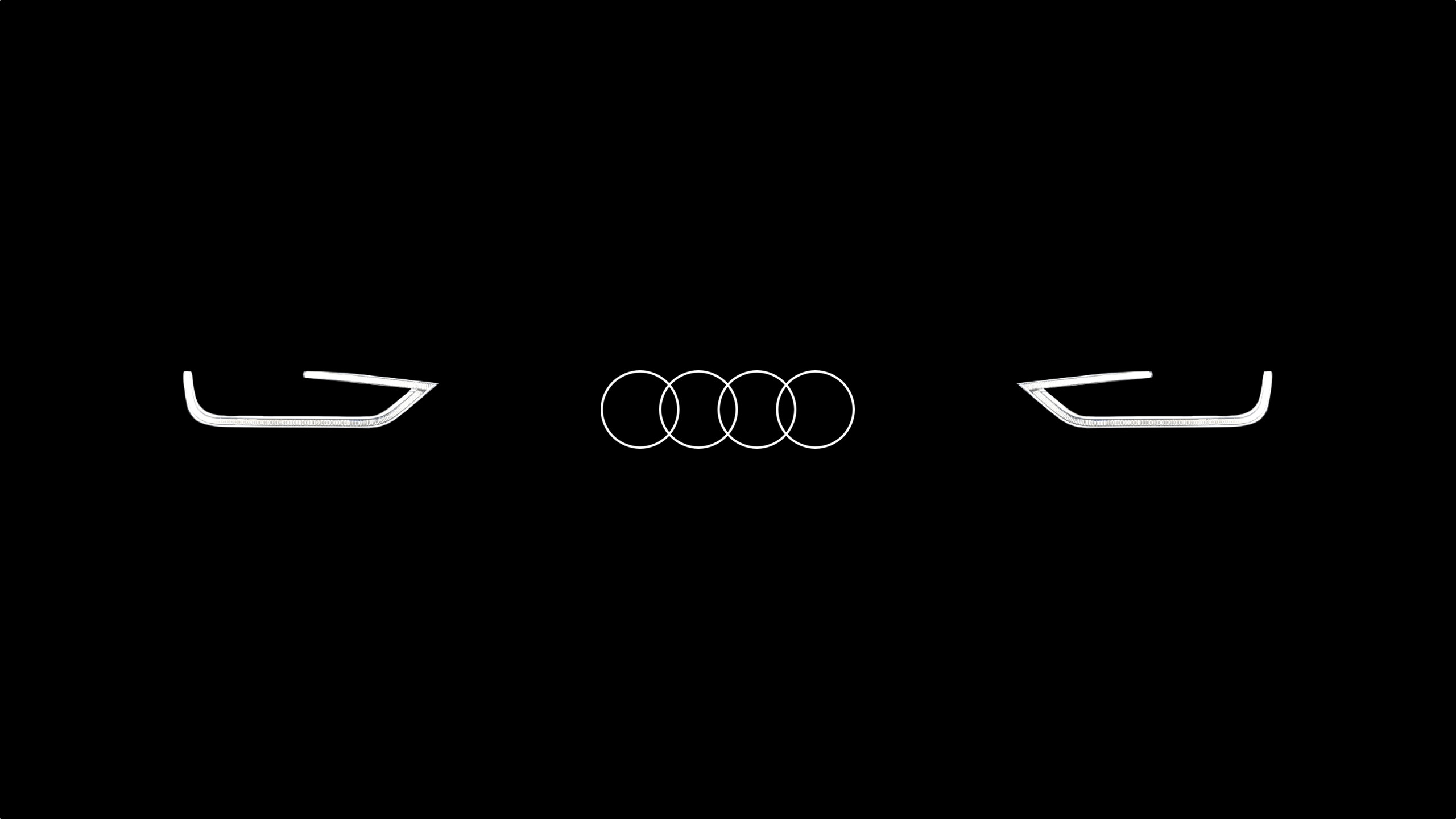 audi logo wallpapers. Black Bedroom Furniture Sets. Home Design Ideas