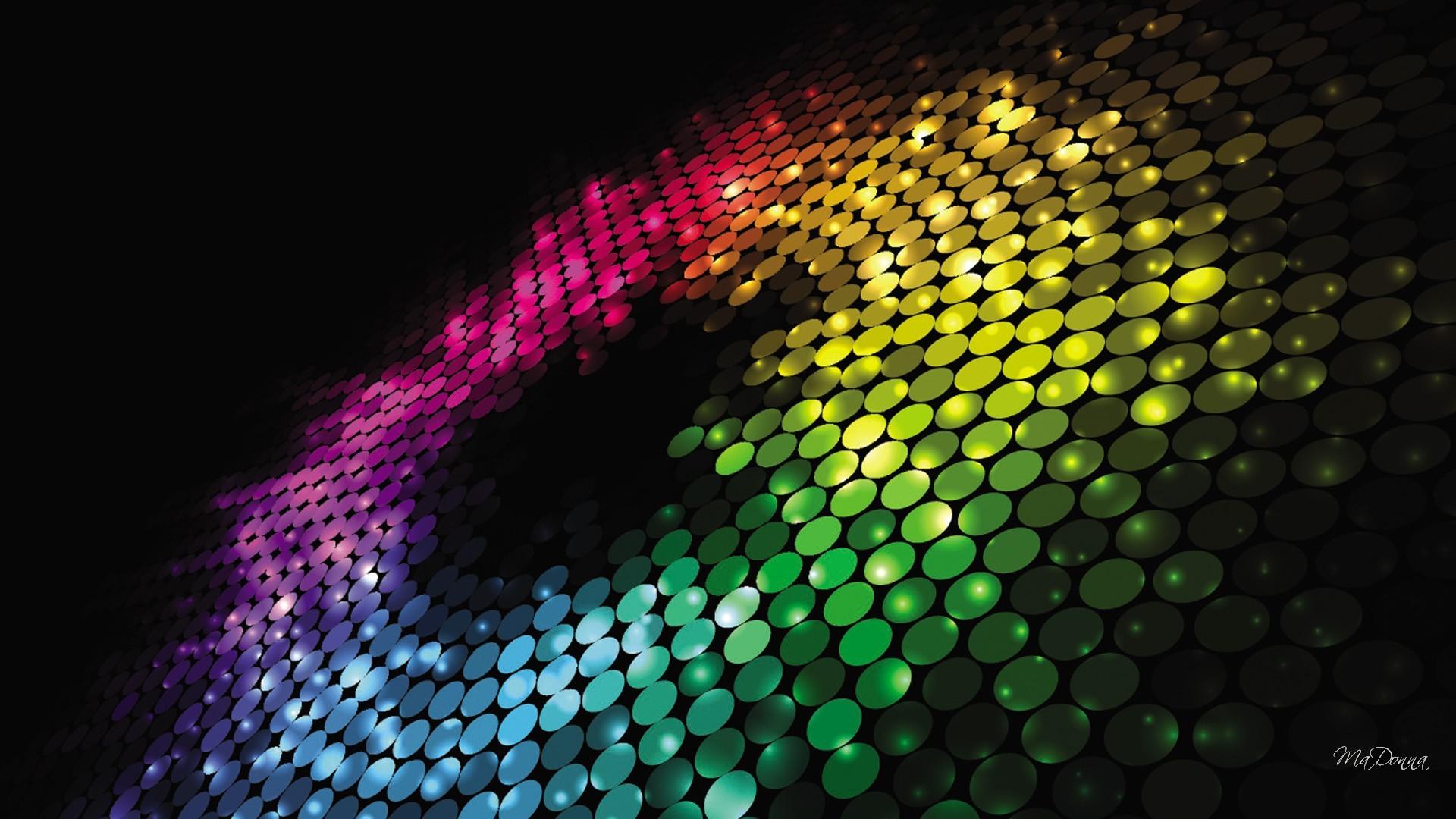 Bright Colored Wallpapers DazheW