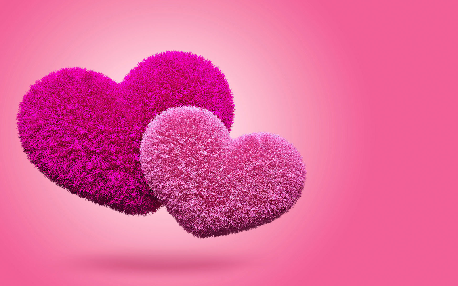 Pink Hearts Background 183 ① Wallpapertag