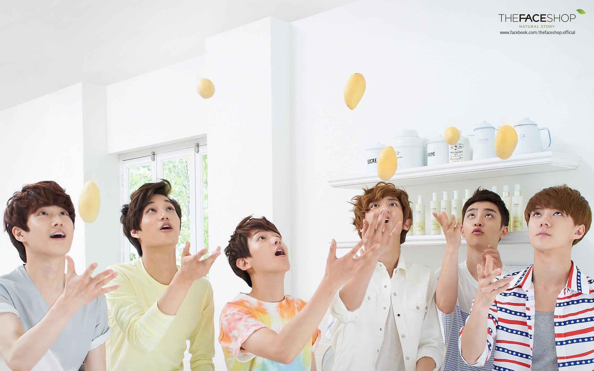 Exo K Pop Wallpapers ·① WallpaperTag