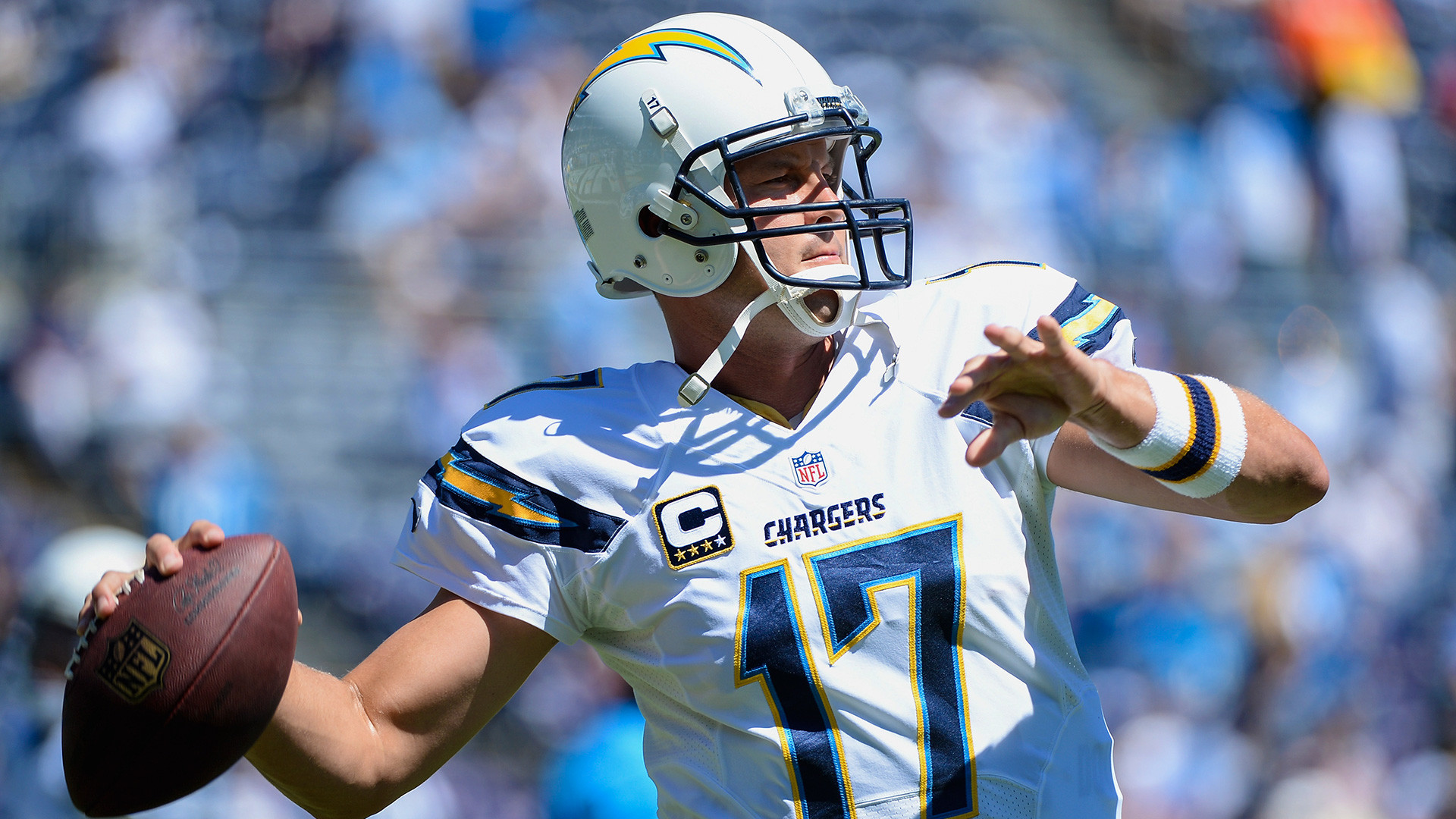 Philip Rivers Pos QB Career 207 G 3 TD 7xProBowl Chargers 20042018 1x Yds Leader born AL 1981