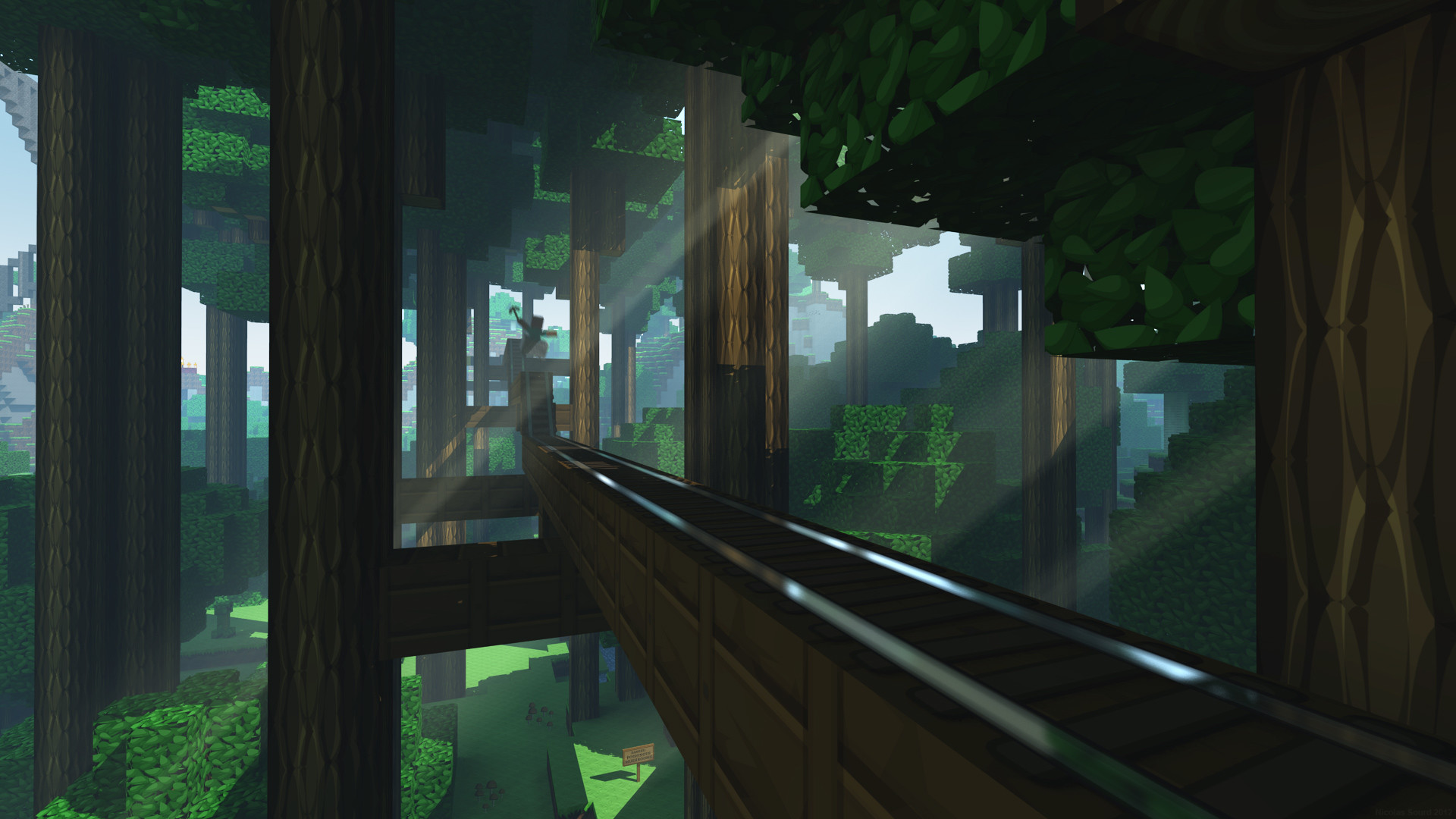 Minecraft Backgrounds for Your Computer ·① WallpaperTag
