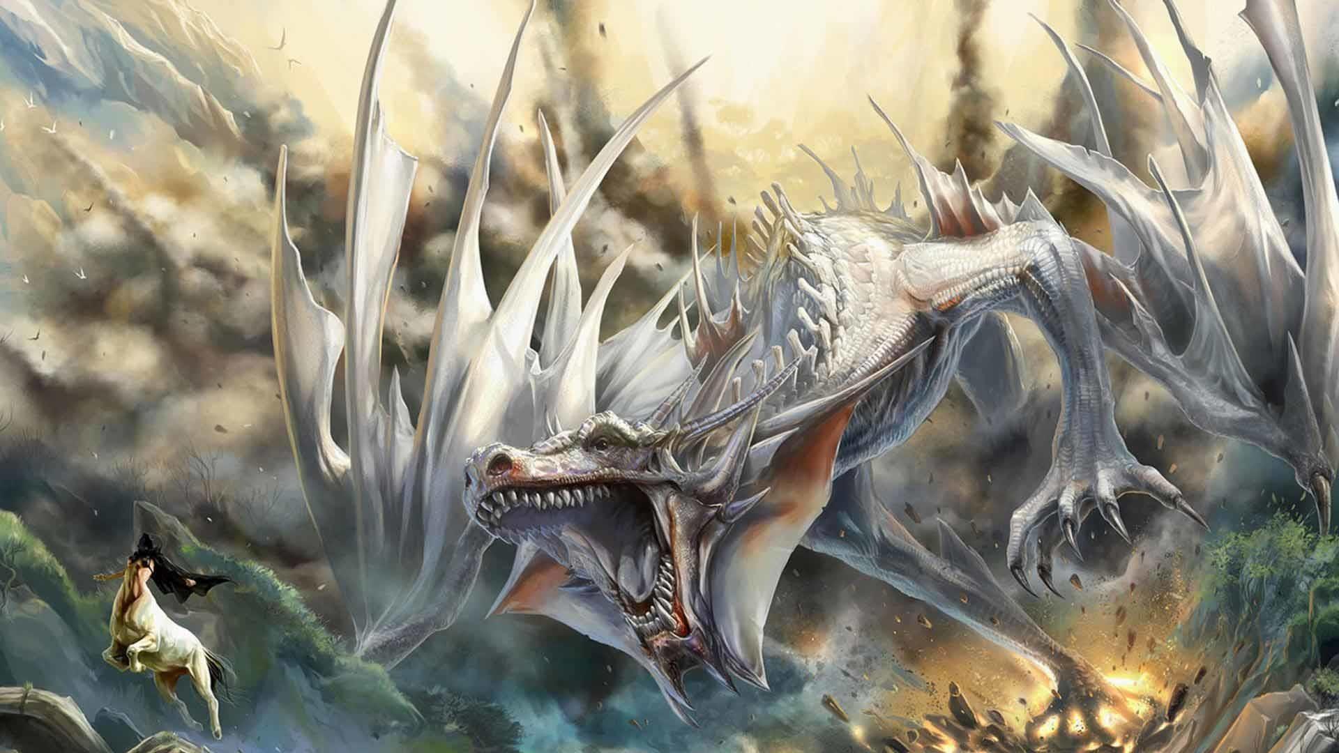 3D Dragon Wallpaper 1