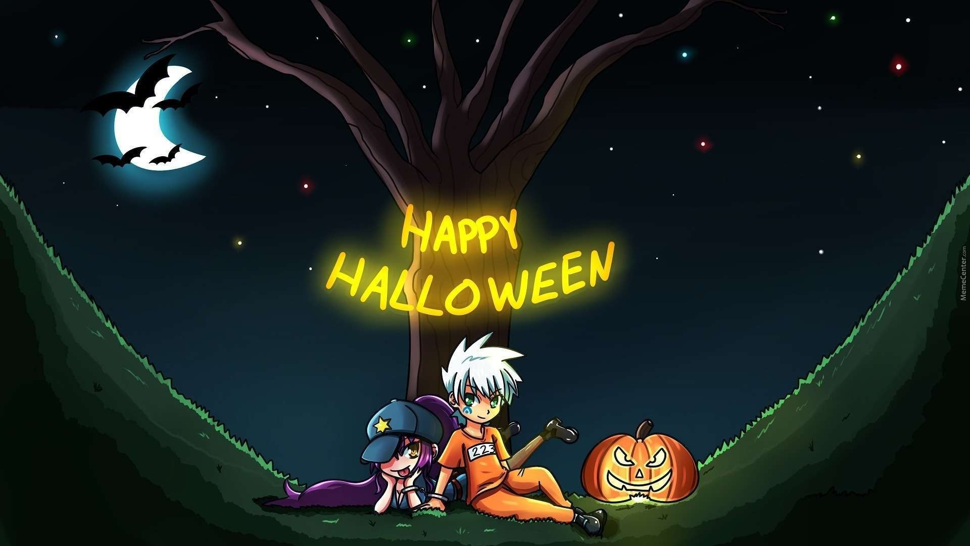 Anime Halloween Wallpaper ·① WallpaperTag
