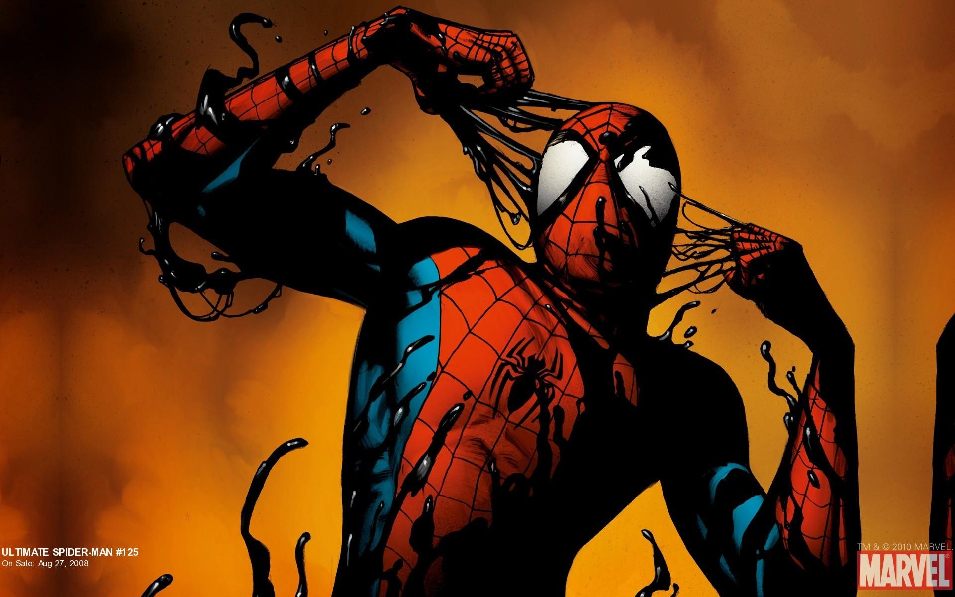 Spiderman Cartoon Wallpaper